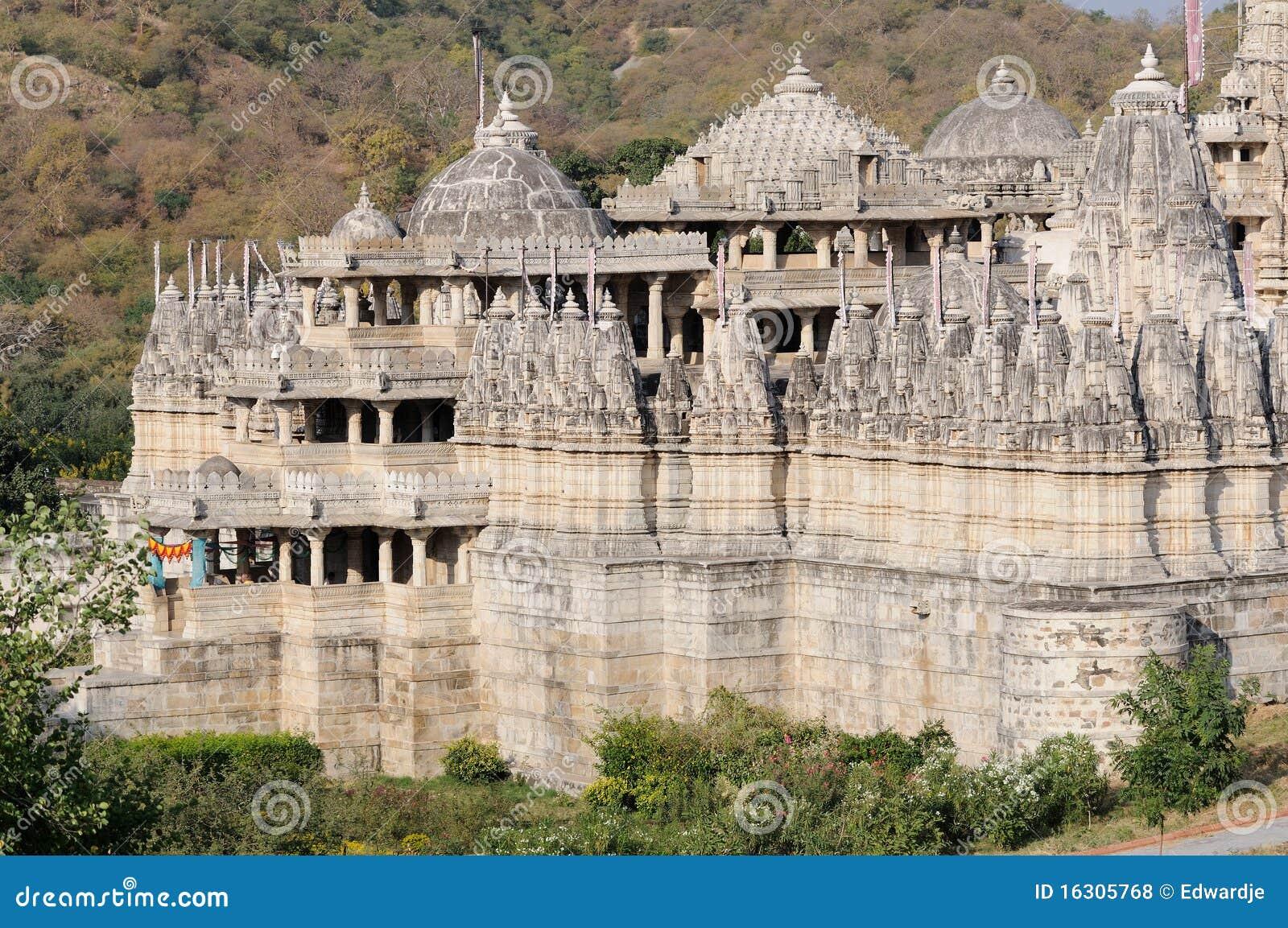 Temple Inde De Ranakpur Photo Stock  Image Du Culture