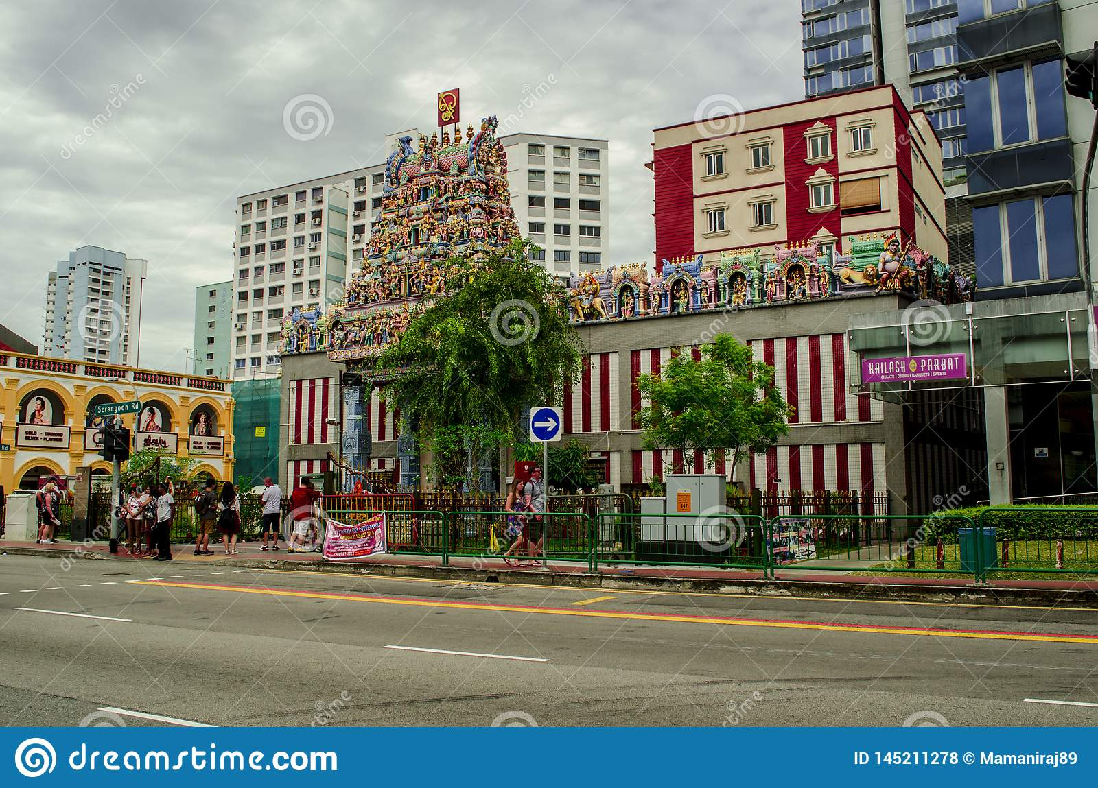 Temple indou de Singapour