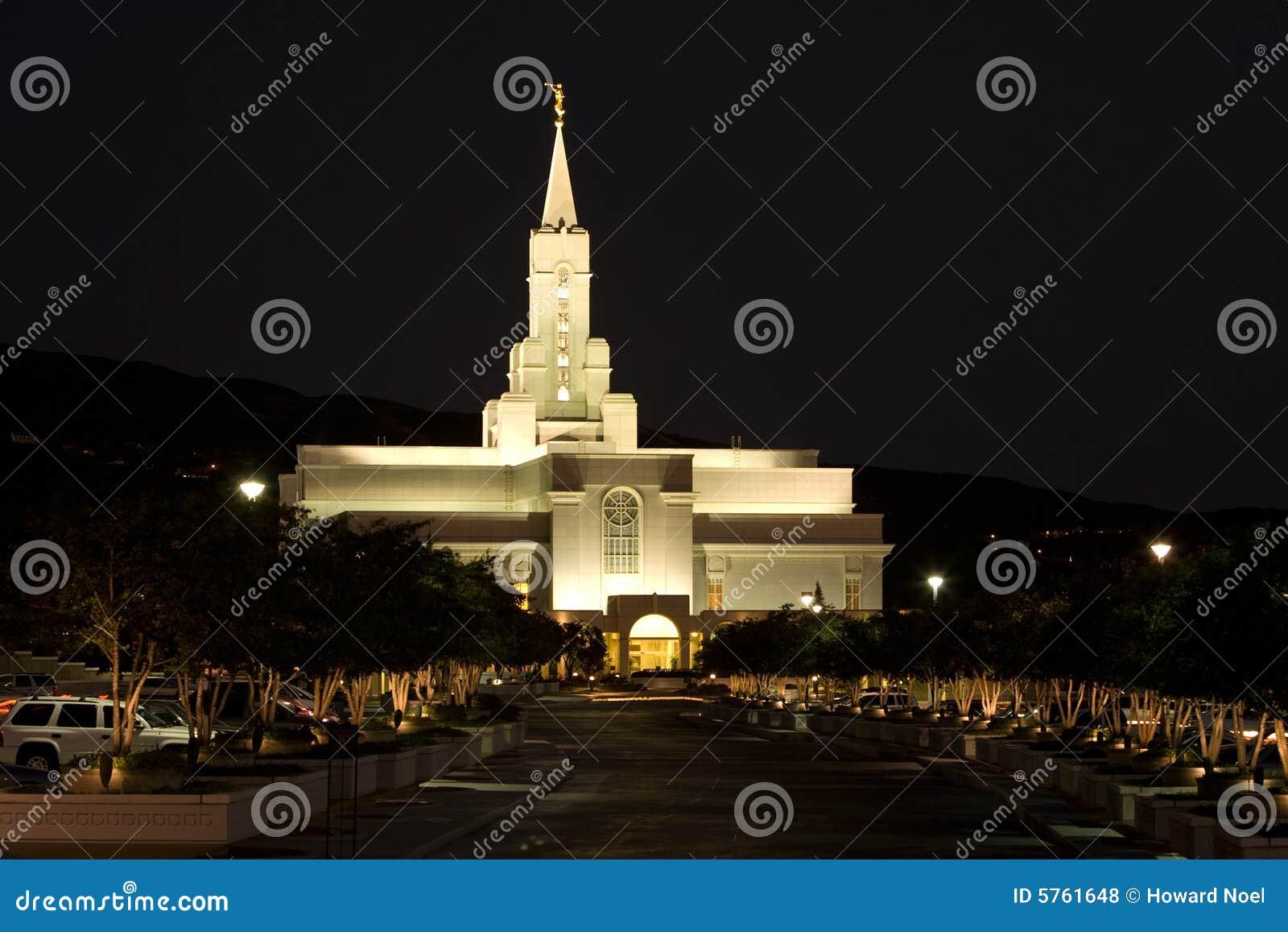 Temple mormon -- Bienfaisant, Utah