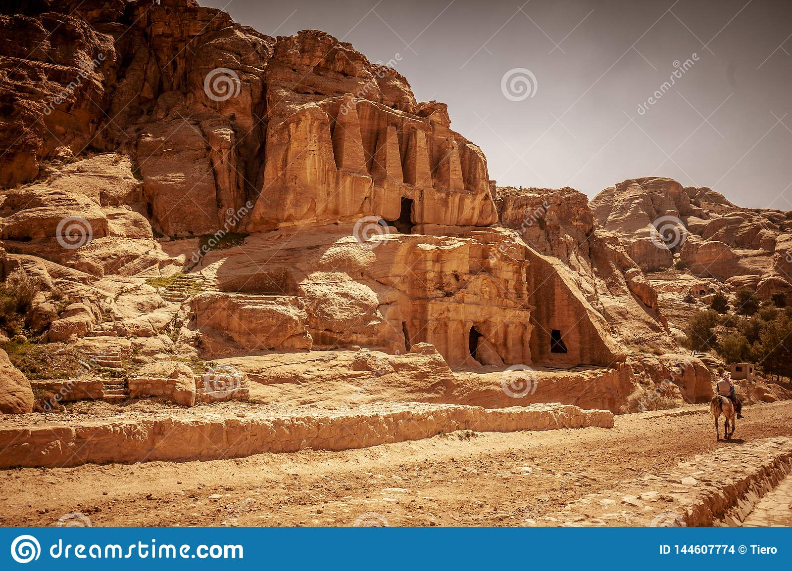 Temple in petra