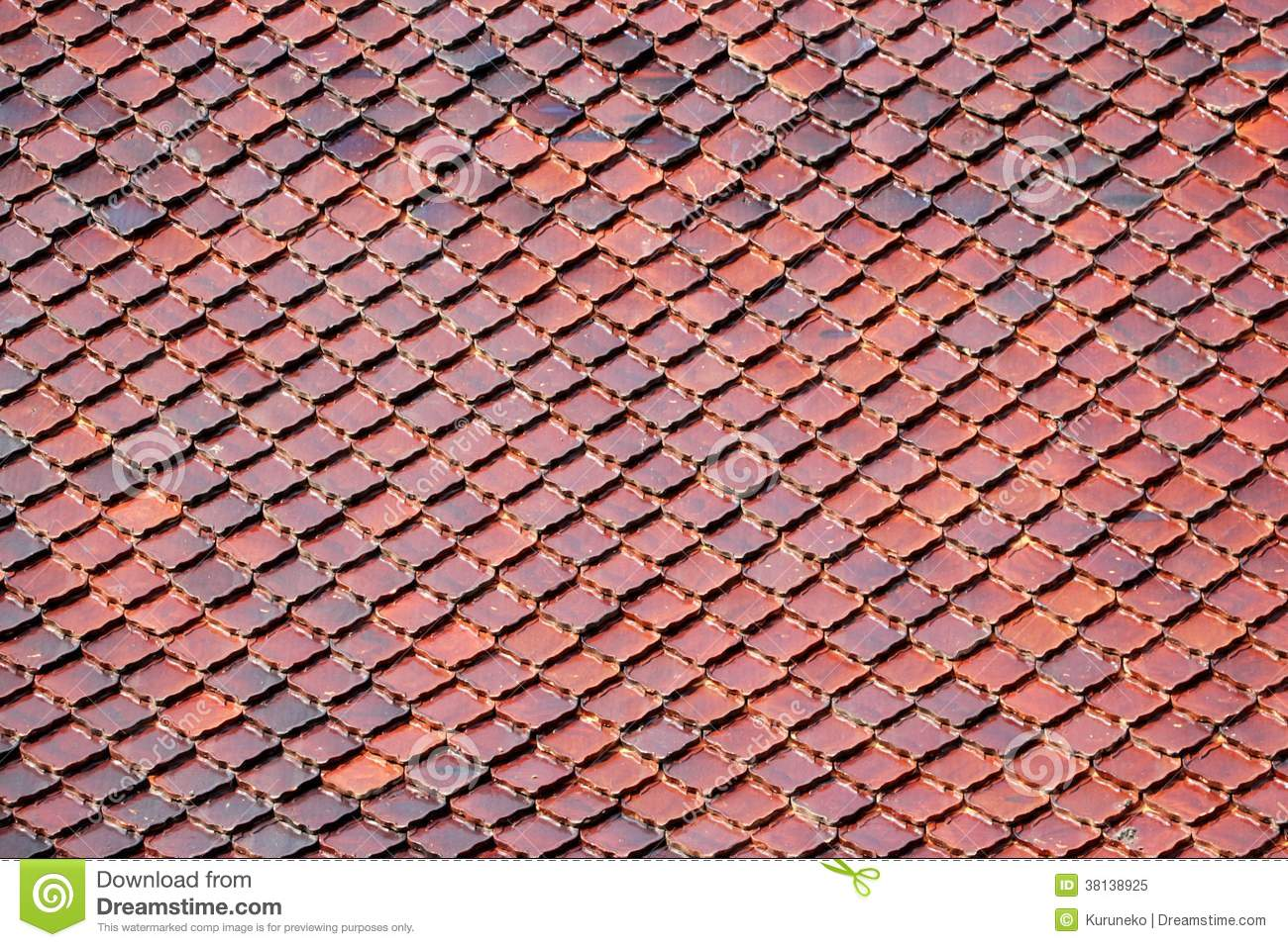 Temple roof tiles pattern stock image image of brown 38138925 temple roof tiles pattern dailygadgetfo Images