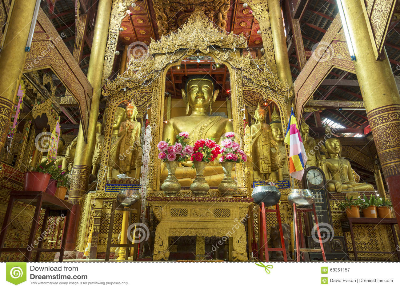 Temple of Wat Inn