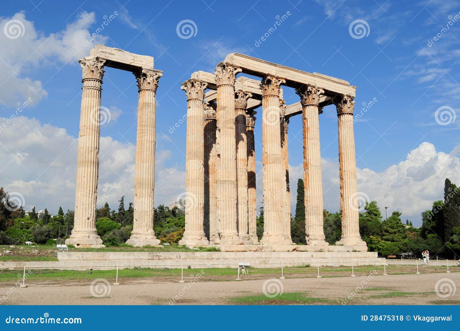 Temple of Zeus, Olympia, Greece.