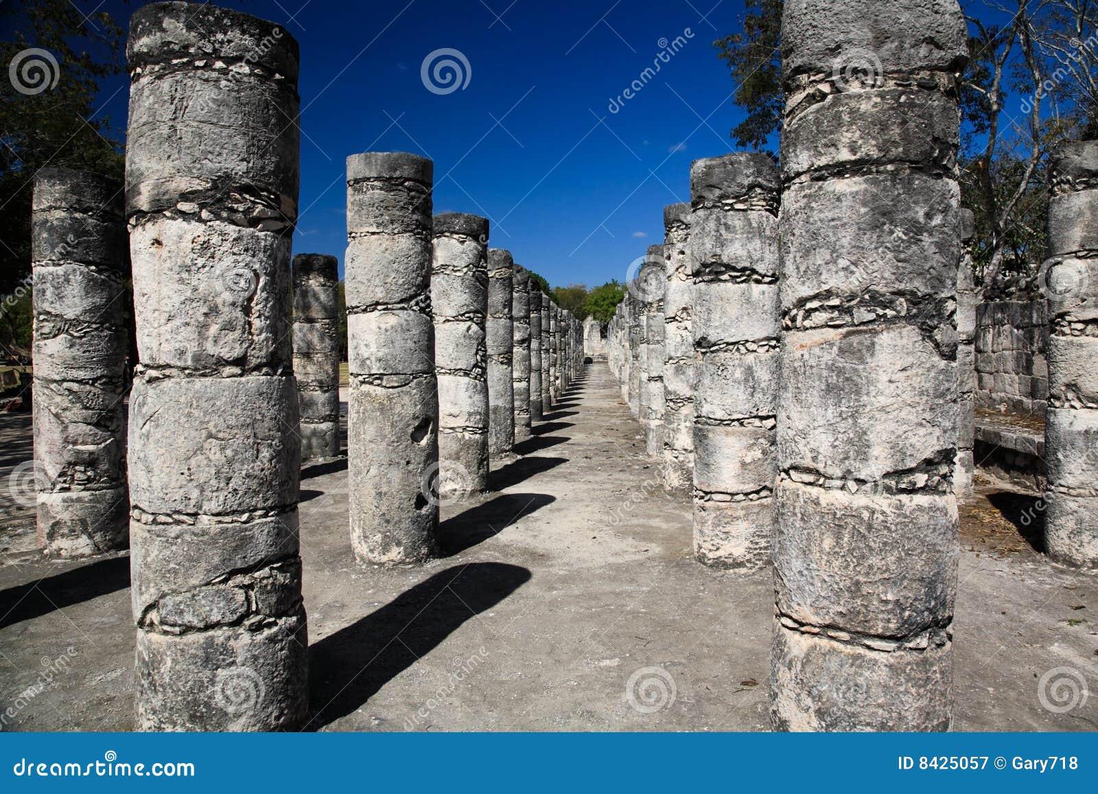 The temples of chichen itza temple