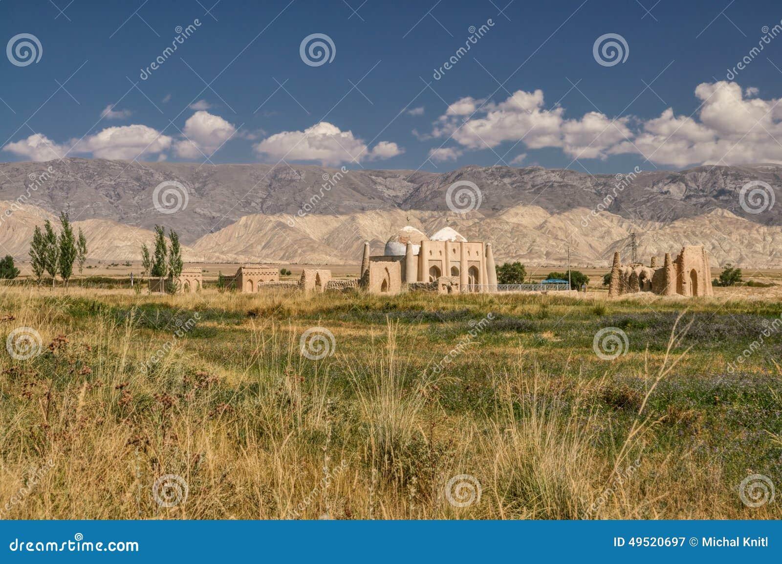 Templet fördärvar i Kirgizistan