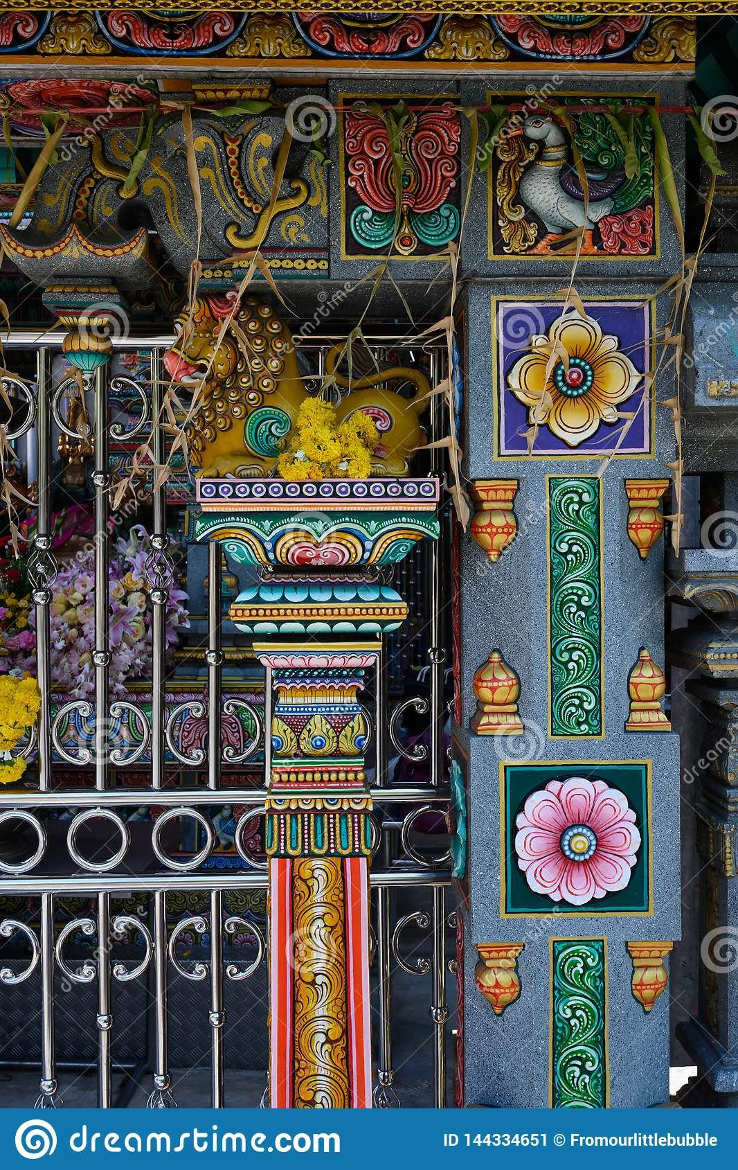 Templo budista em Banguecoque, Tail?ndia