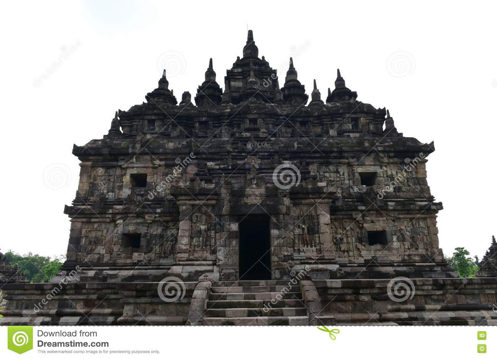 Templo budista histórico de Candi Plaosan