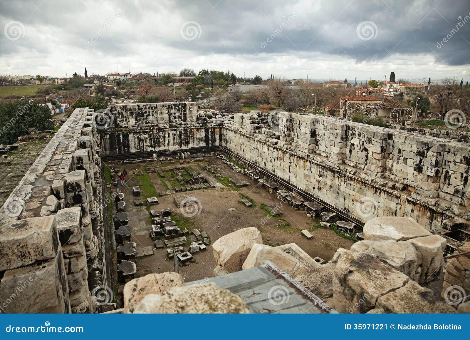 Templo de Apolo en Turquía