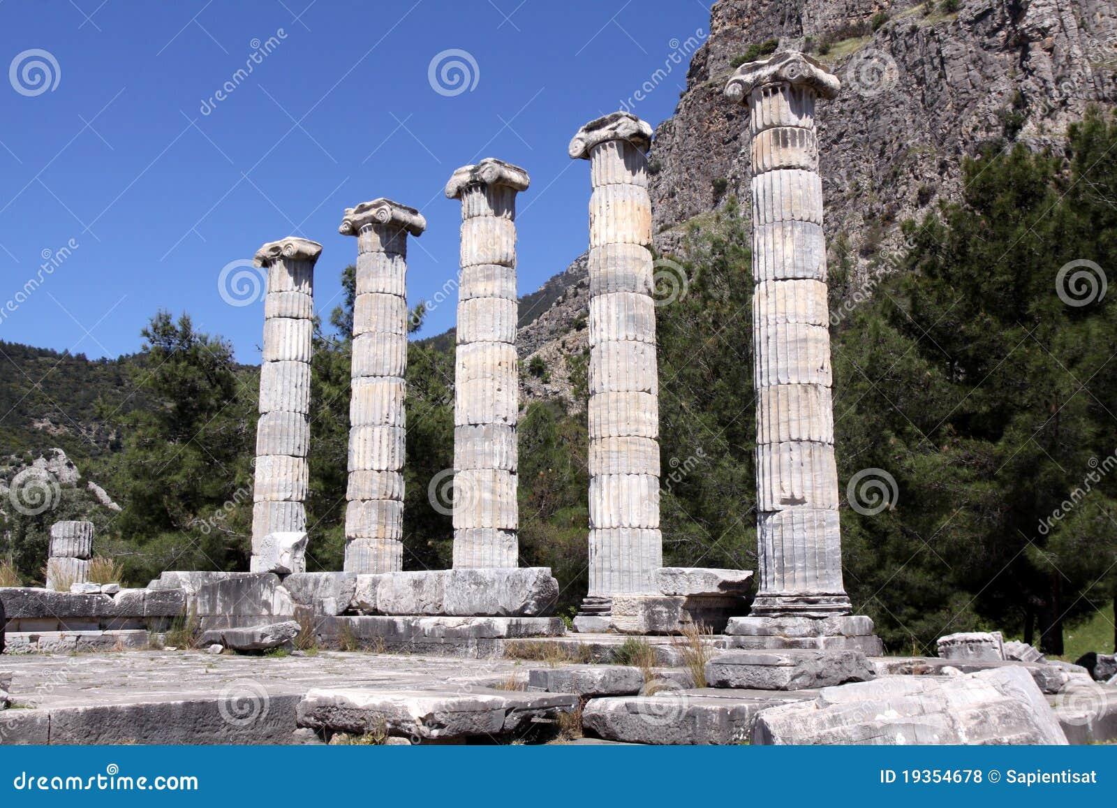 Templo de Athena em Priene, Turquia