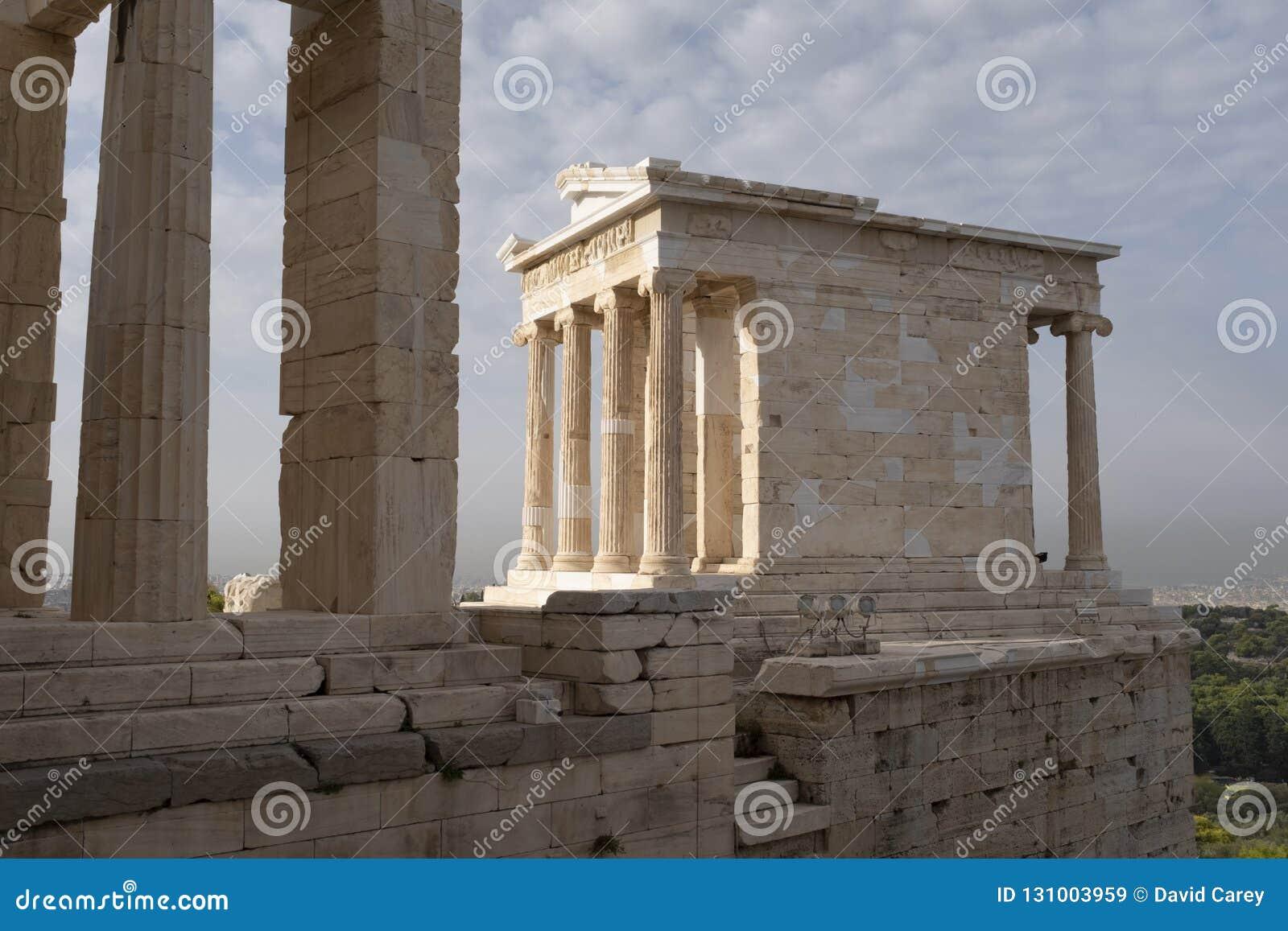 Templo de Athena Nike, acrópole, Atenas