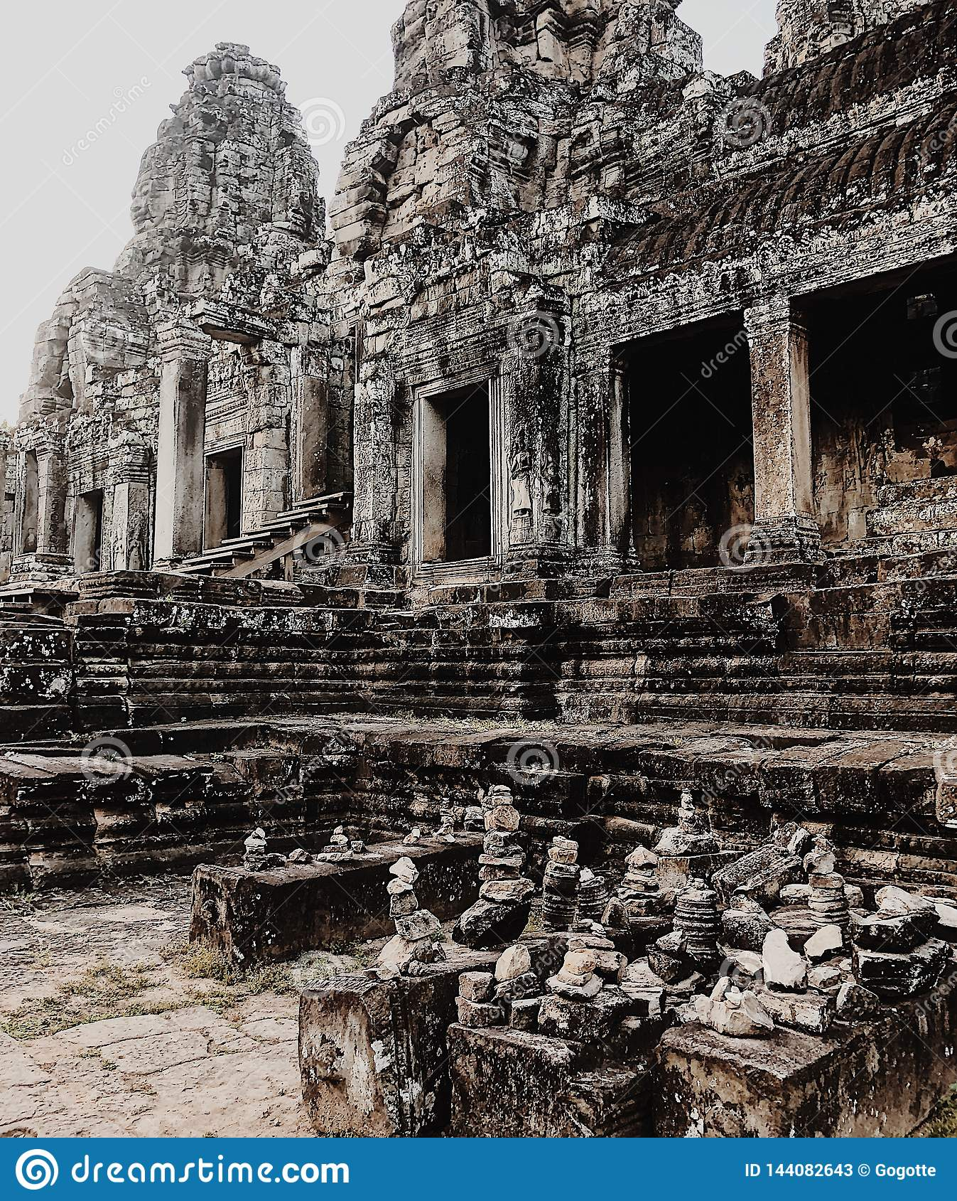 Templo de Bayon, Angkor Thom, Siem Reap, Camboya