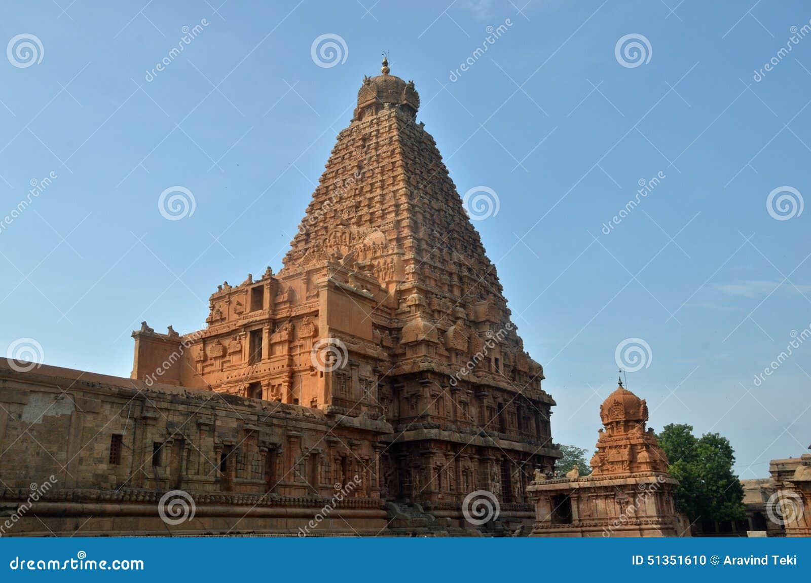Templo de Brihadeeswara, Thanjavur