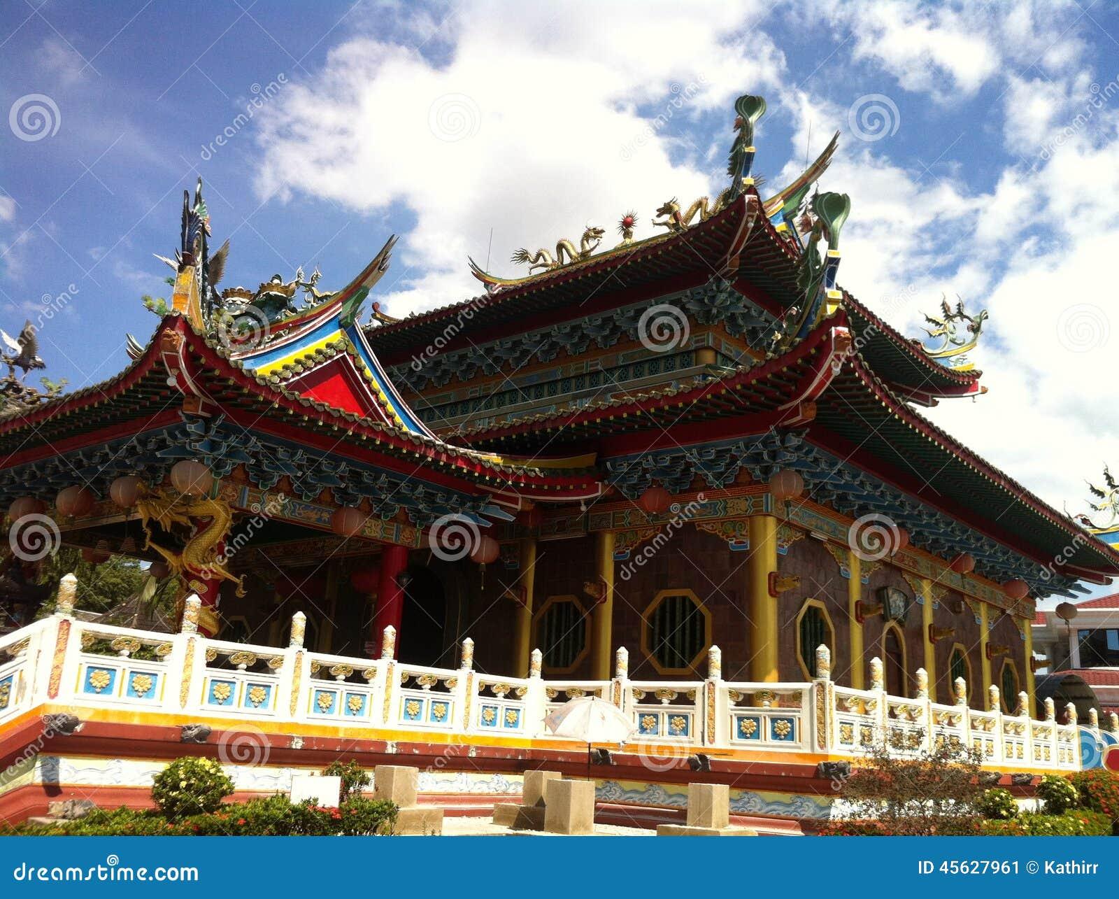 Templo de Buda, Bintulu, Sarawak, isla de Borneo