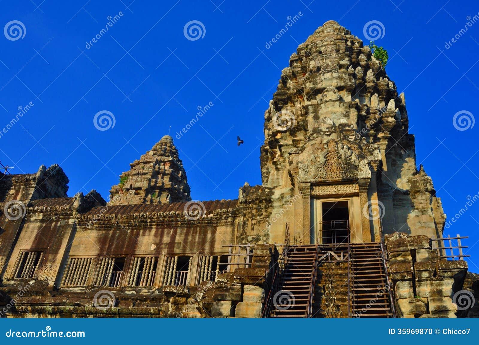 Templo de Camboya - de Angkor Wat