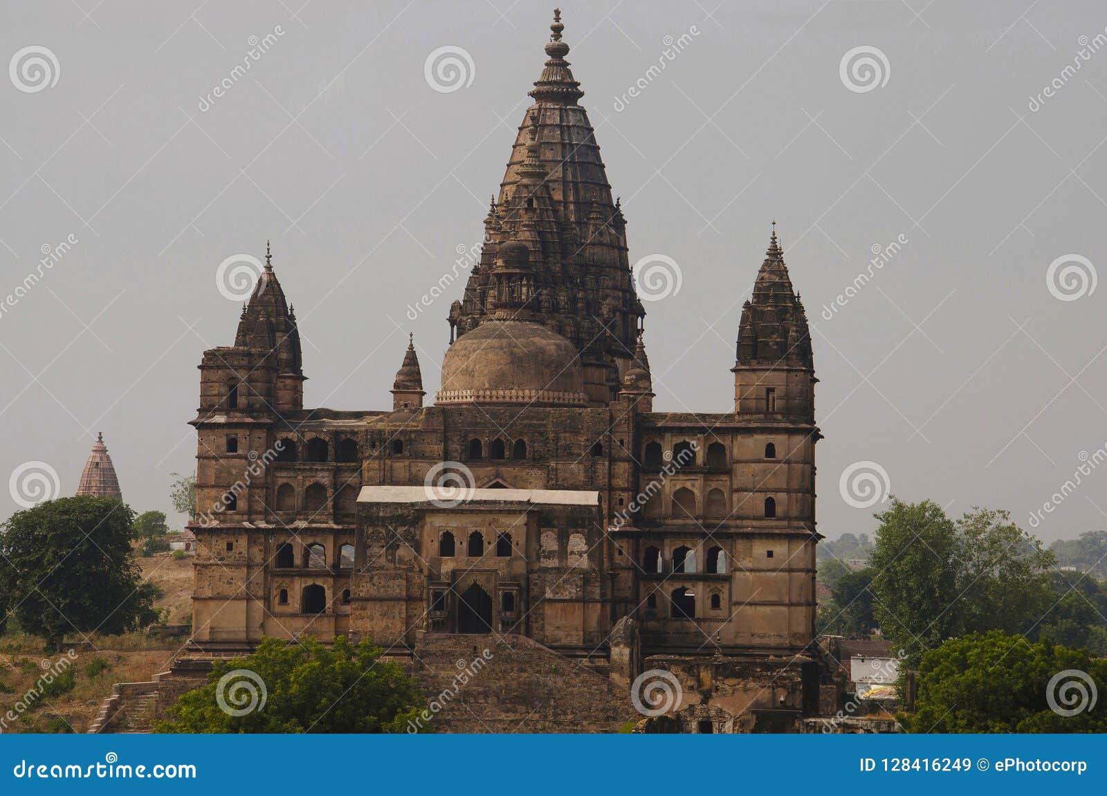 Templo de Chaturbhuj Dedicado a Lord Vishnu Orchha Madhya Pradesh