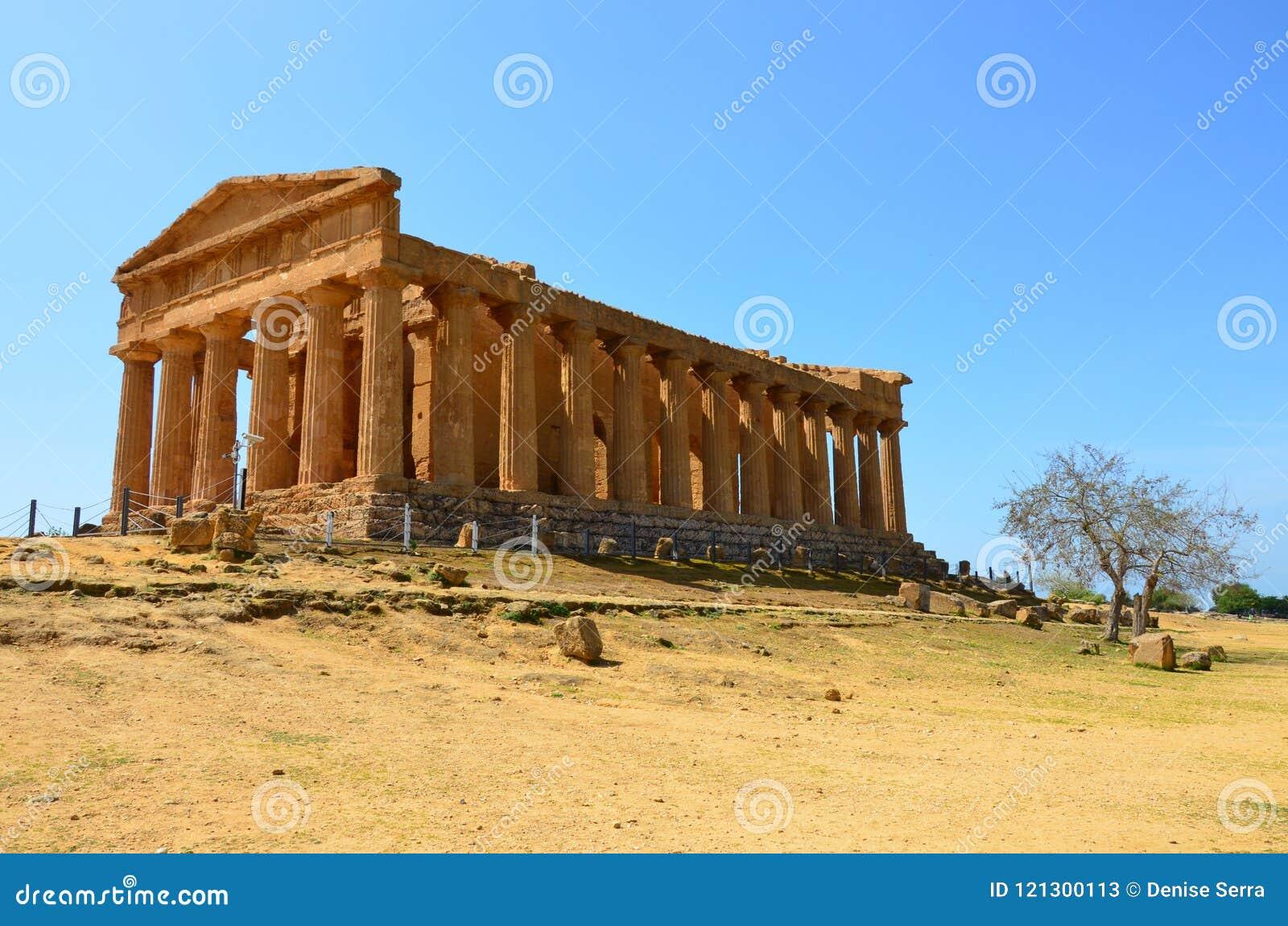 Templo de Concordia, Agrigento
