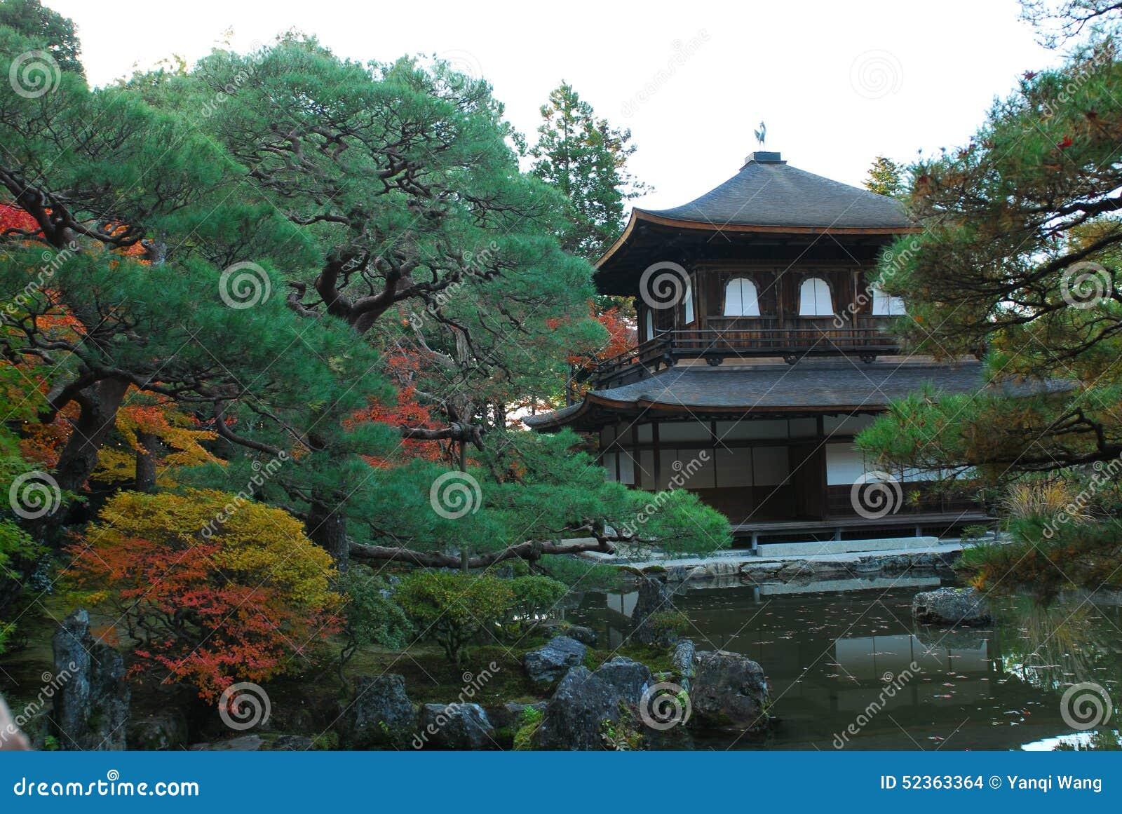Templo de Ginkakuji em Kyoto