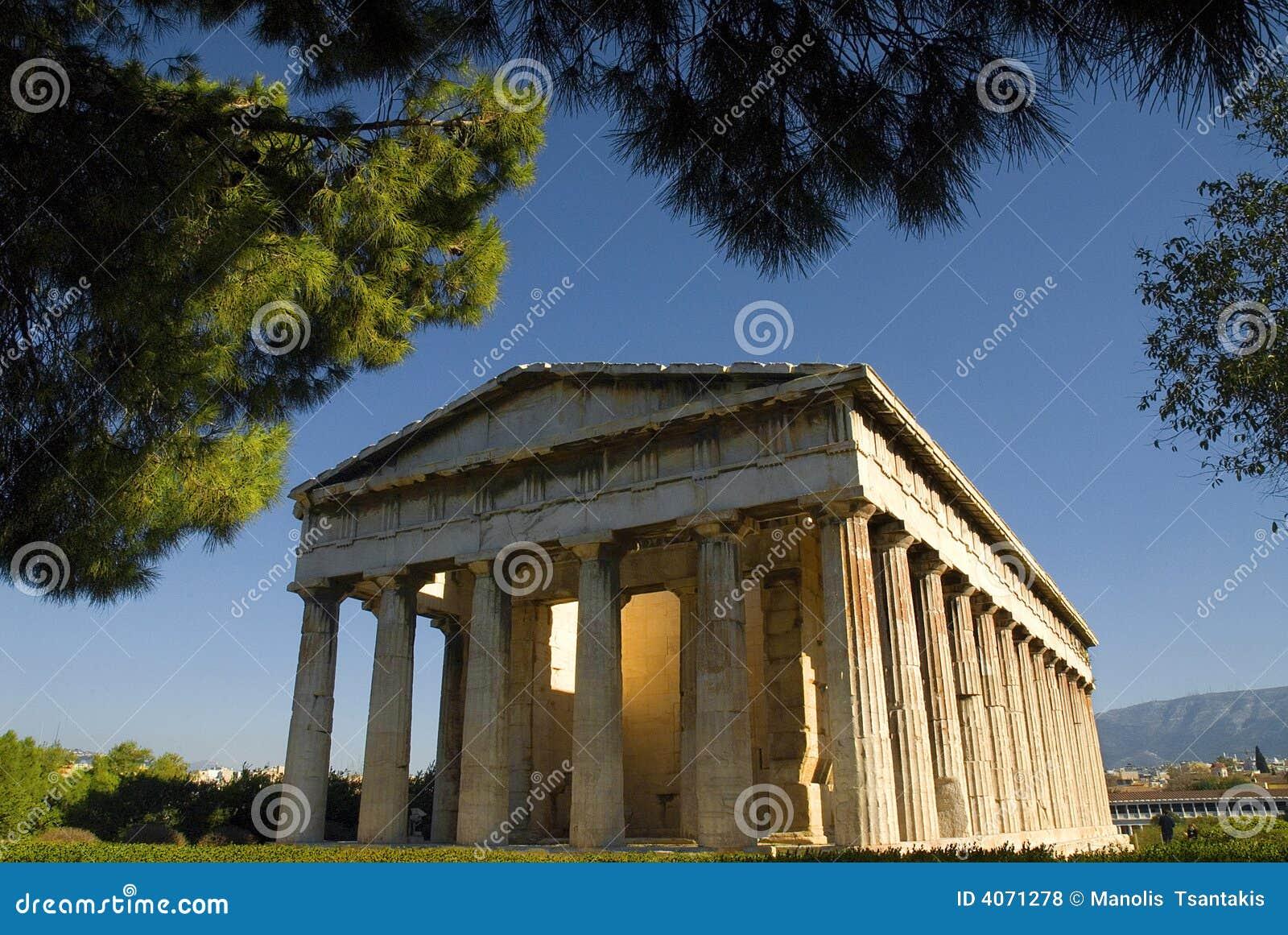Templo de Hephaestus em Atenas