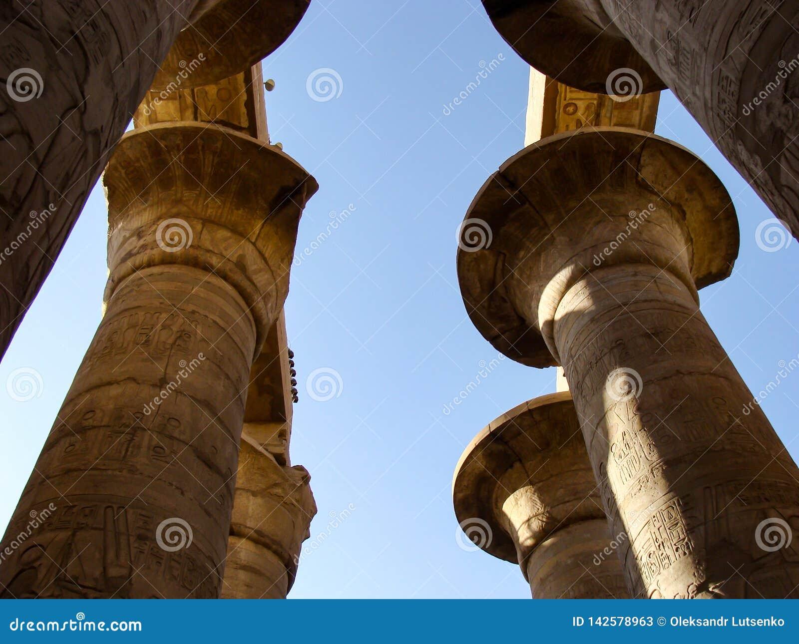 Templo de Karnak em Luxor