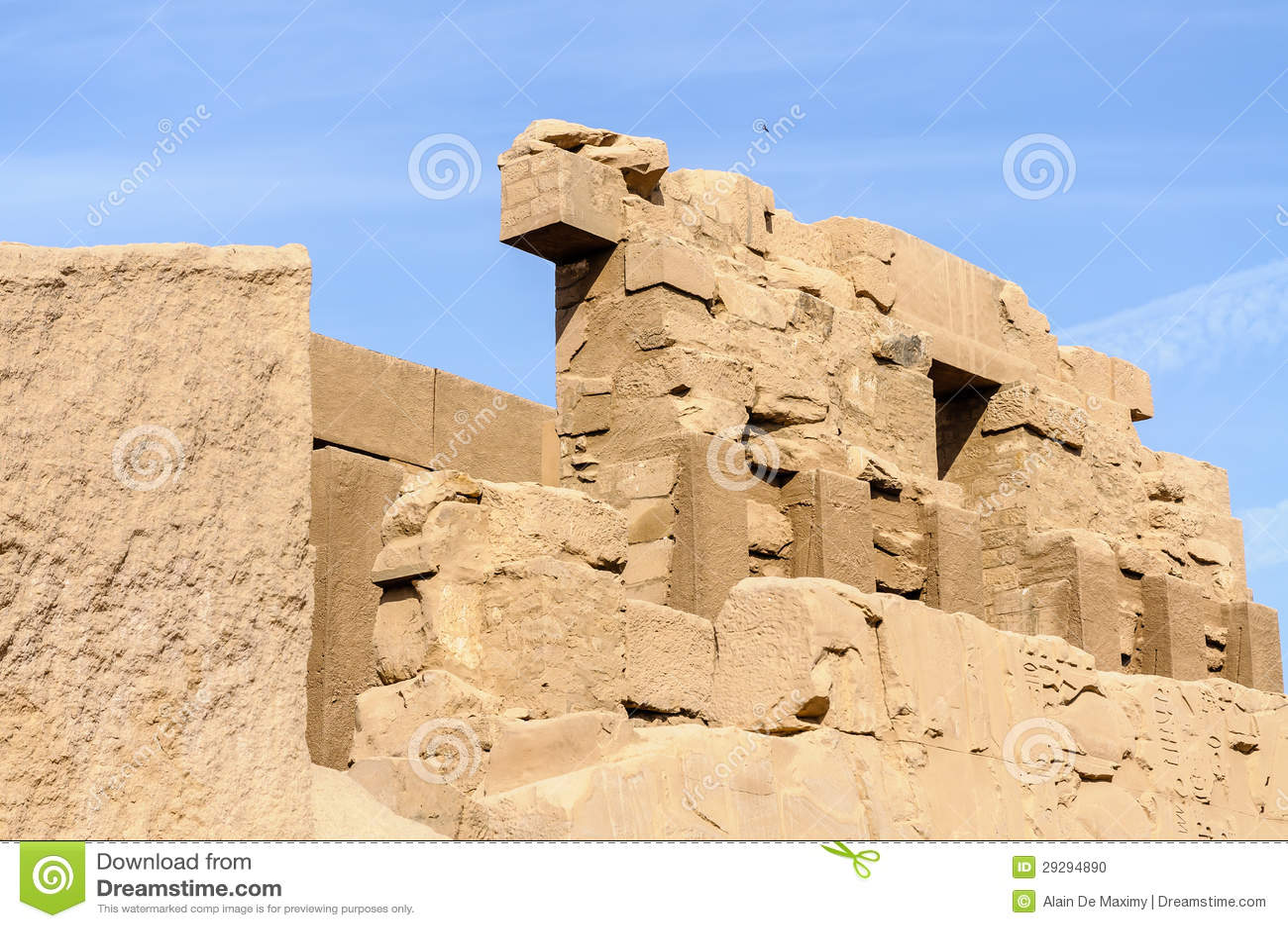 Templo de Karnak em Luxor, Egipto