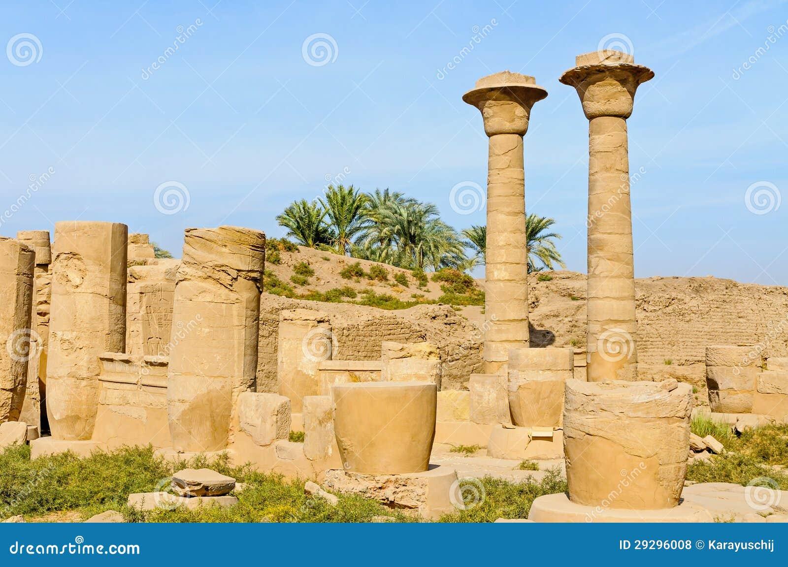 Templo de Karnak em Luxor, Egipto.