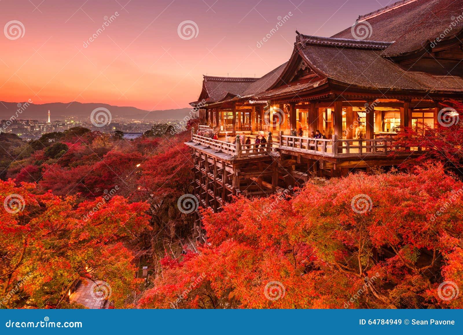 Templo de Kiyomizu de Kyoto, Japón