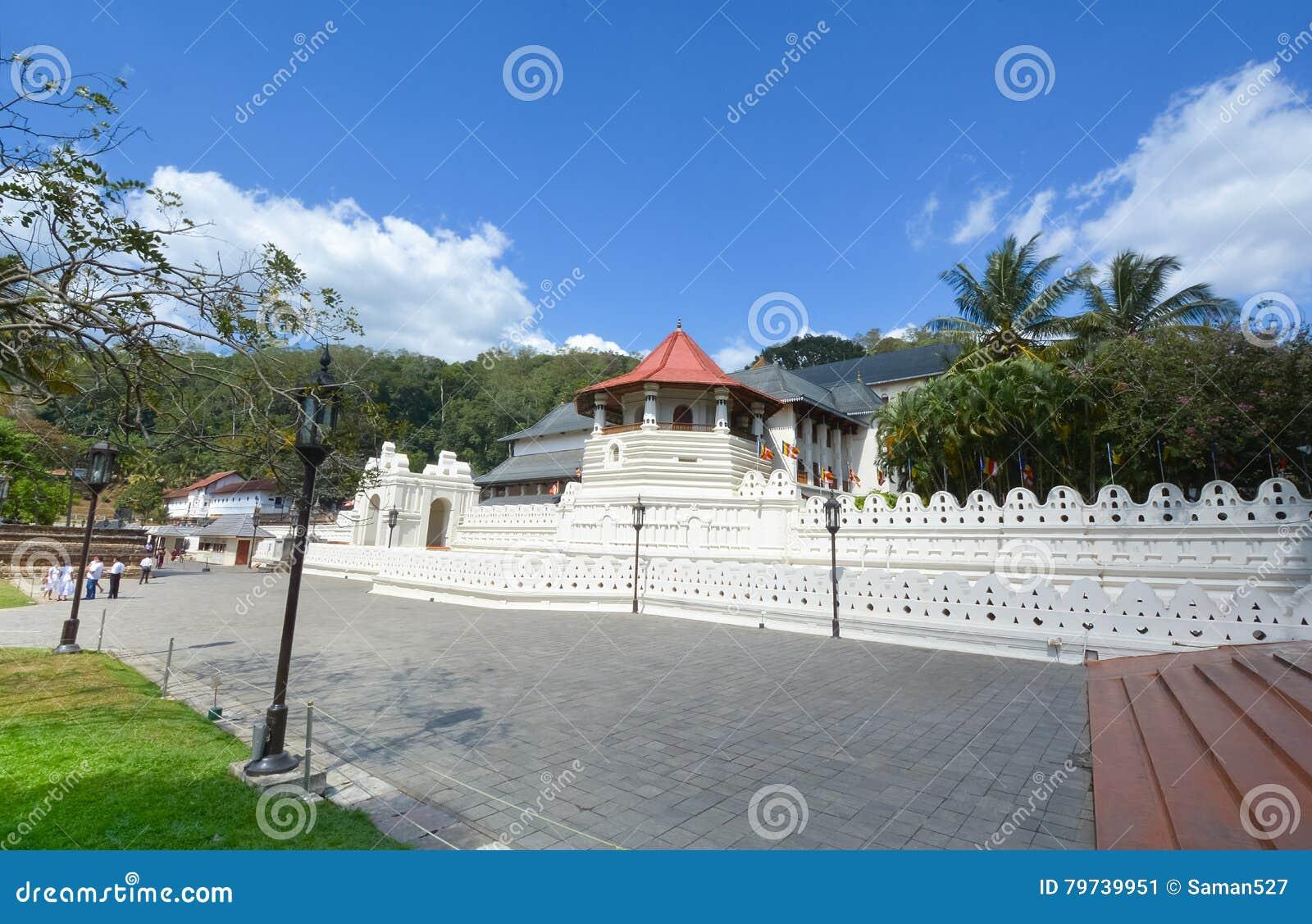 Templo de la reliquia sagrada del diente, Sri Lanka