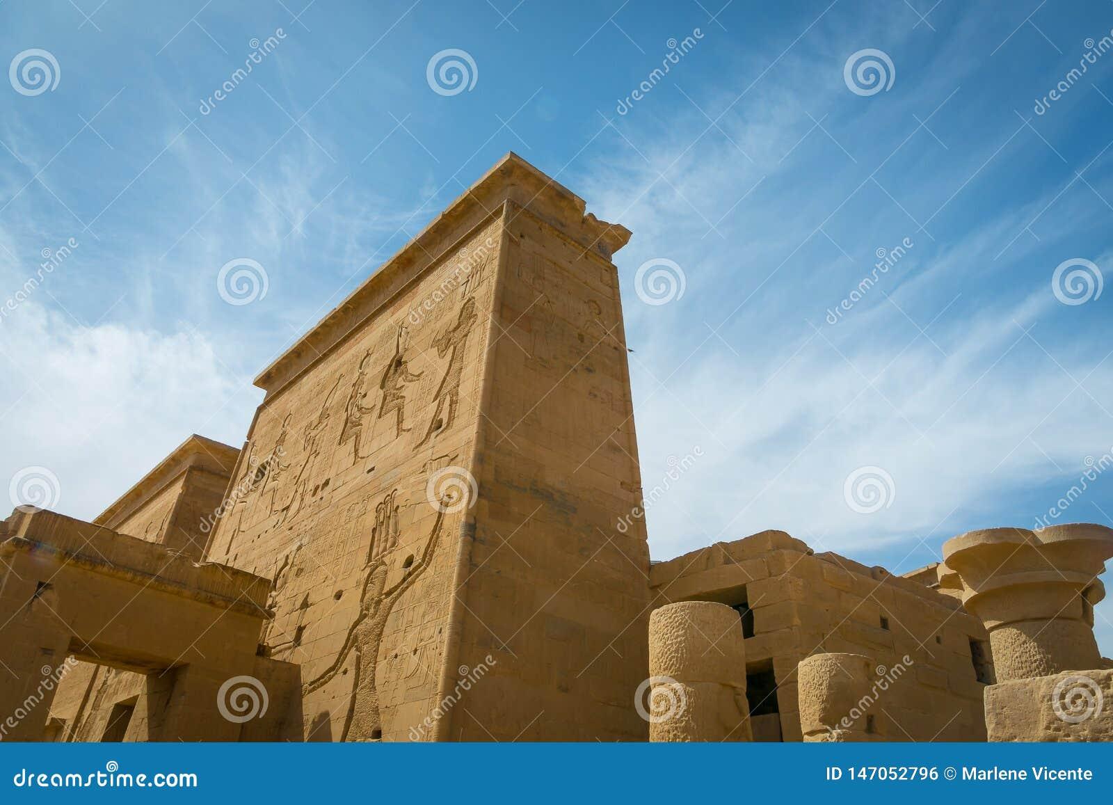 Templo de Philae, templo do Isis