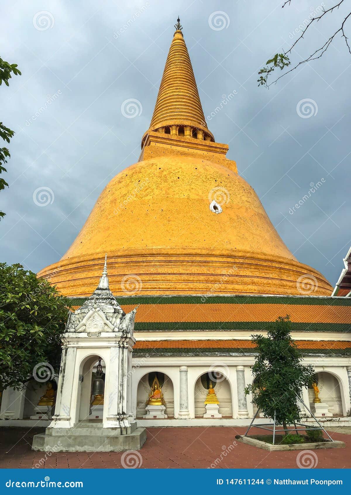 Templo de Phra Pathom Chedi