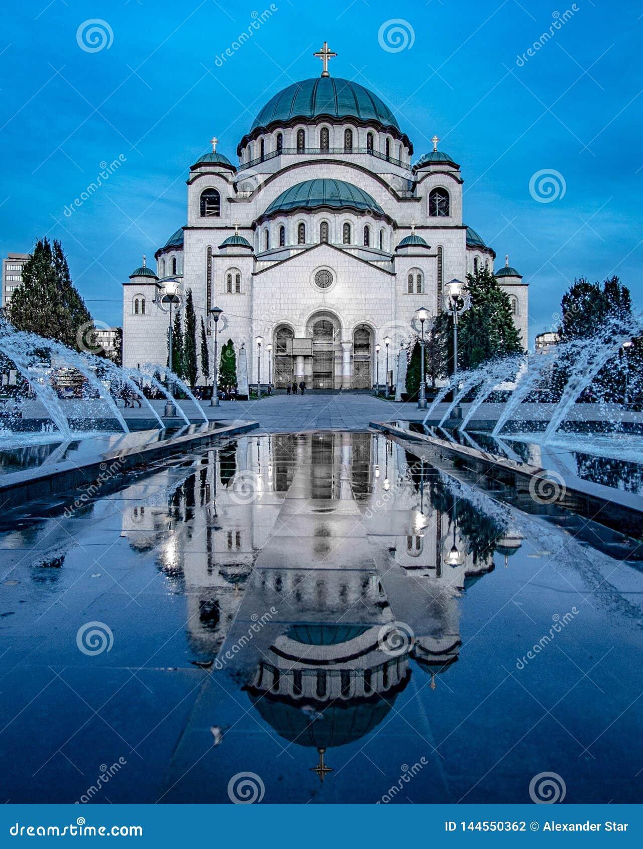 Templo de Saint Sava em Belgrado