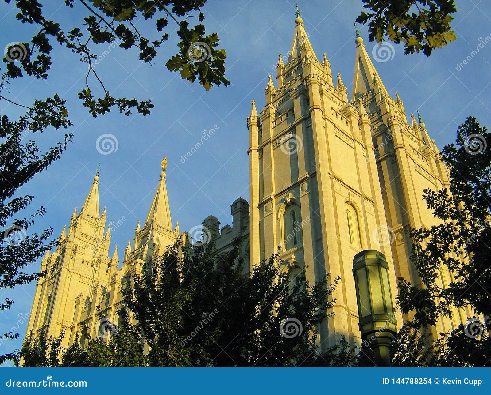 Templo de Salt Lake City do mórmon