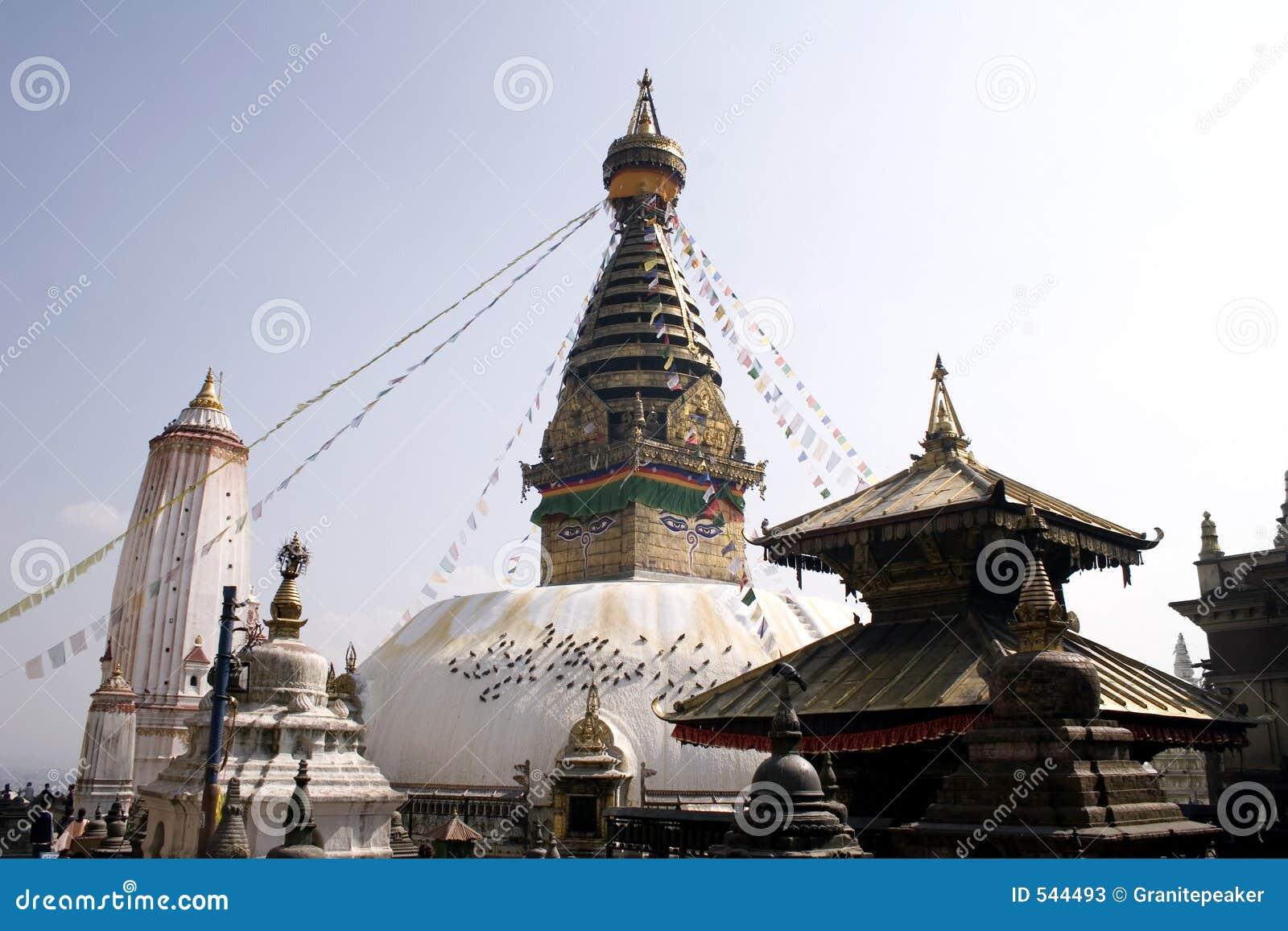 Templo de Swayambhunath - Nepal