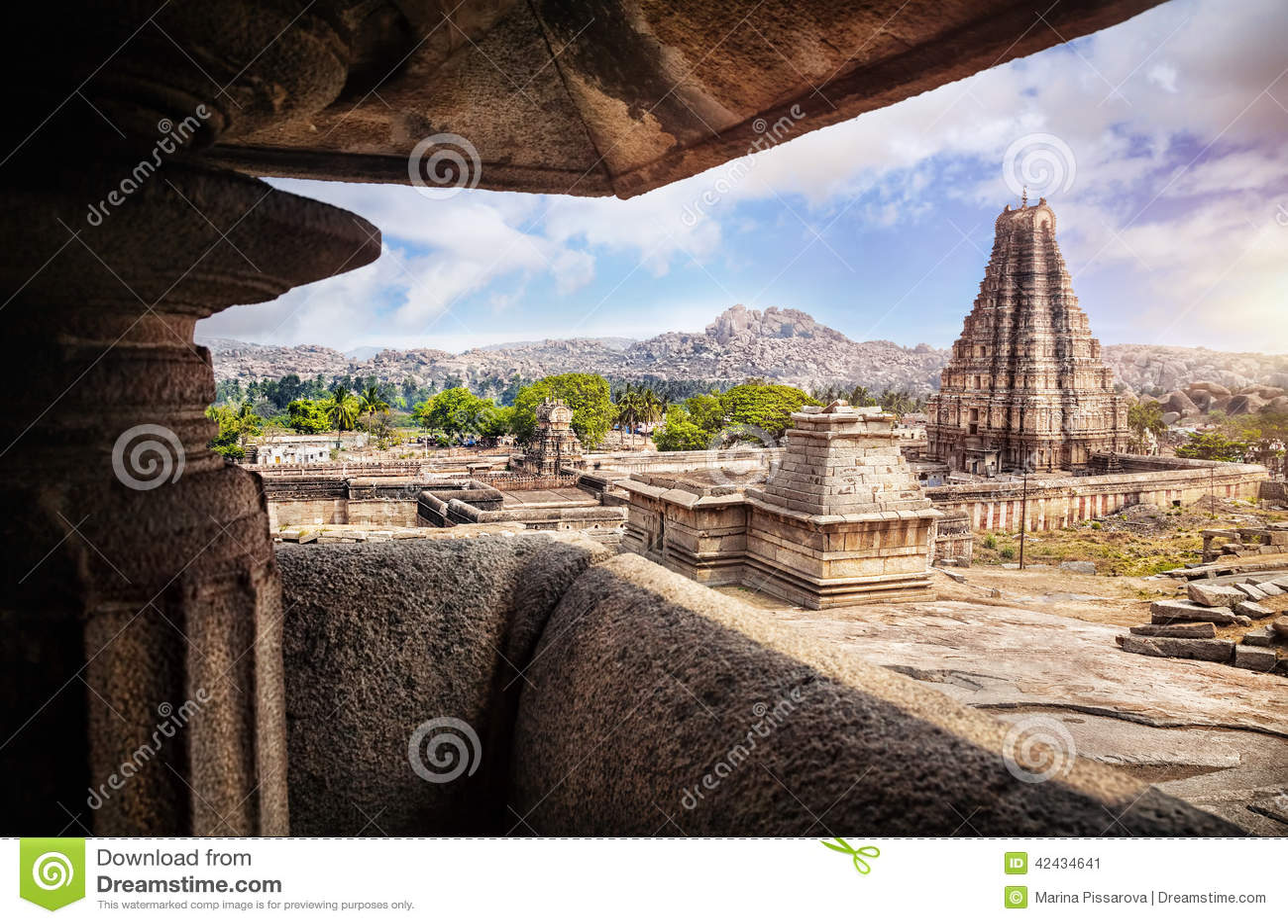 Templo de Virupaksha en Hampi