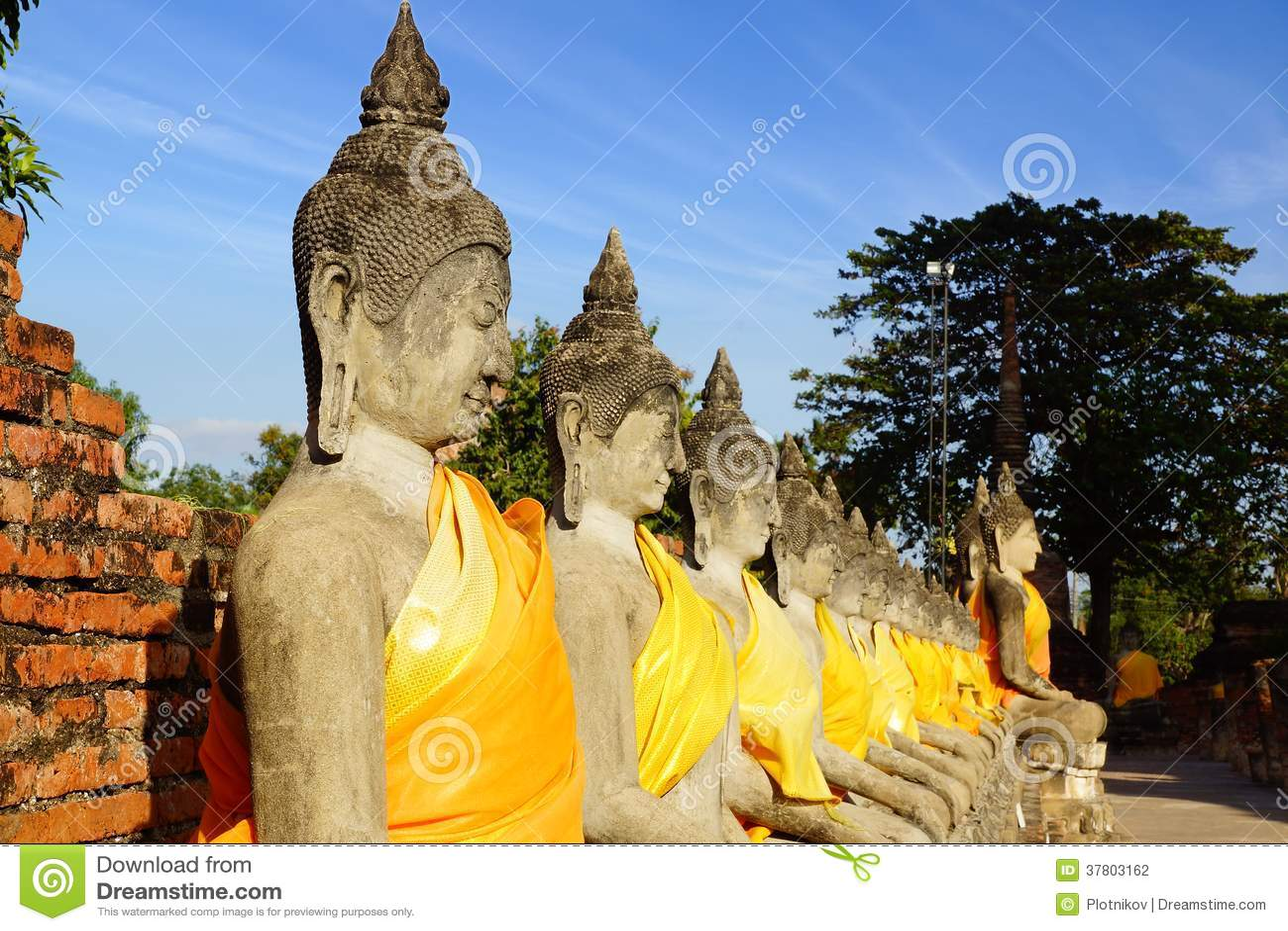 Templo de Wat Chai Watthanaram. Ayutthaya