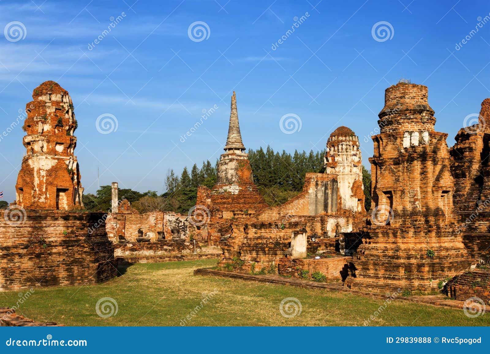 Templo de Wat Mahathat, Ayutthaya