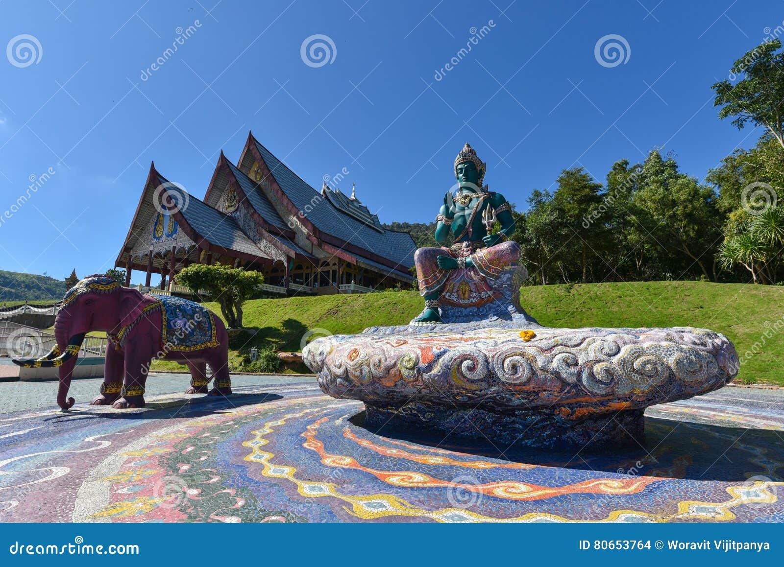 Templo de Wat Pa Huay Lad