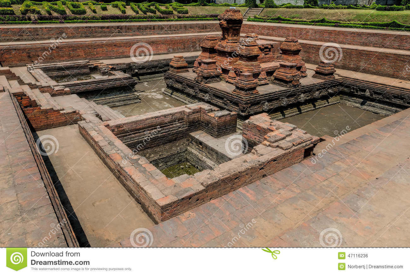 Templo del tikus de Candi