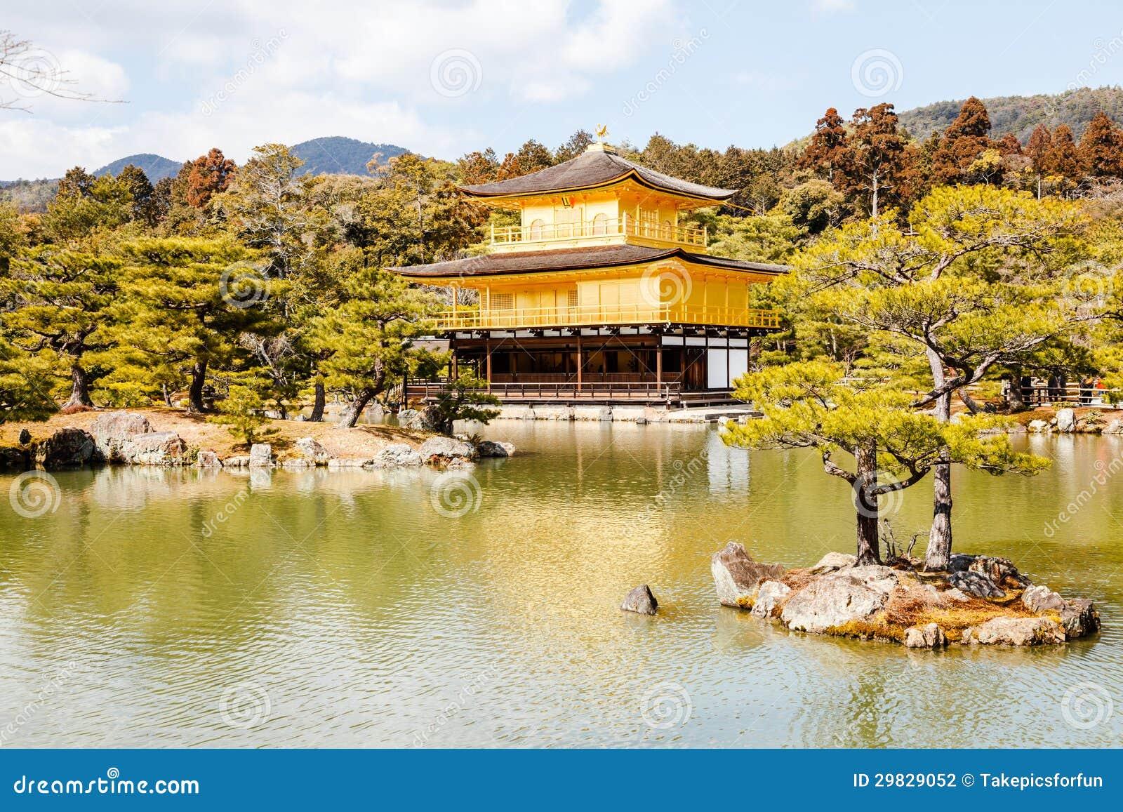 Templo do pavilhão dourado