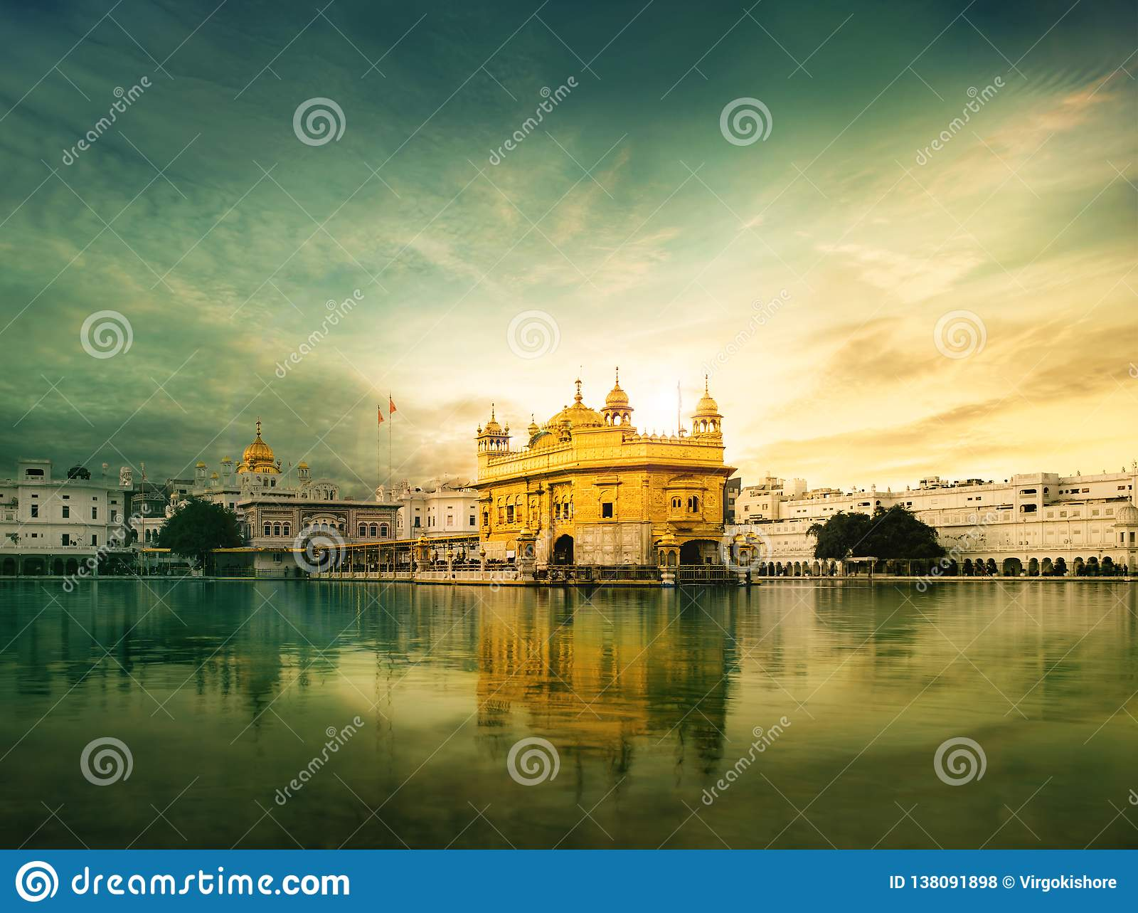 Templo dourado amritsar, Harmandir Sahib