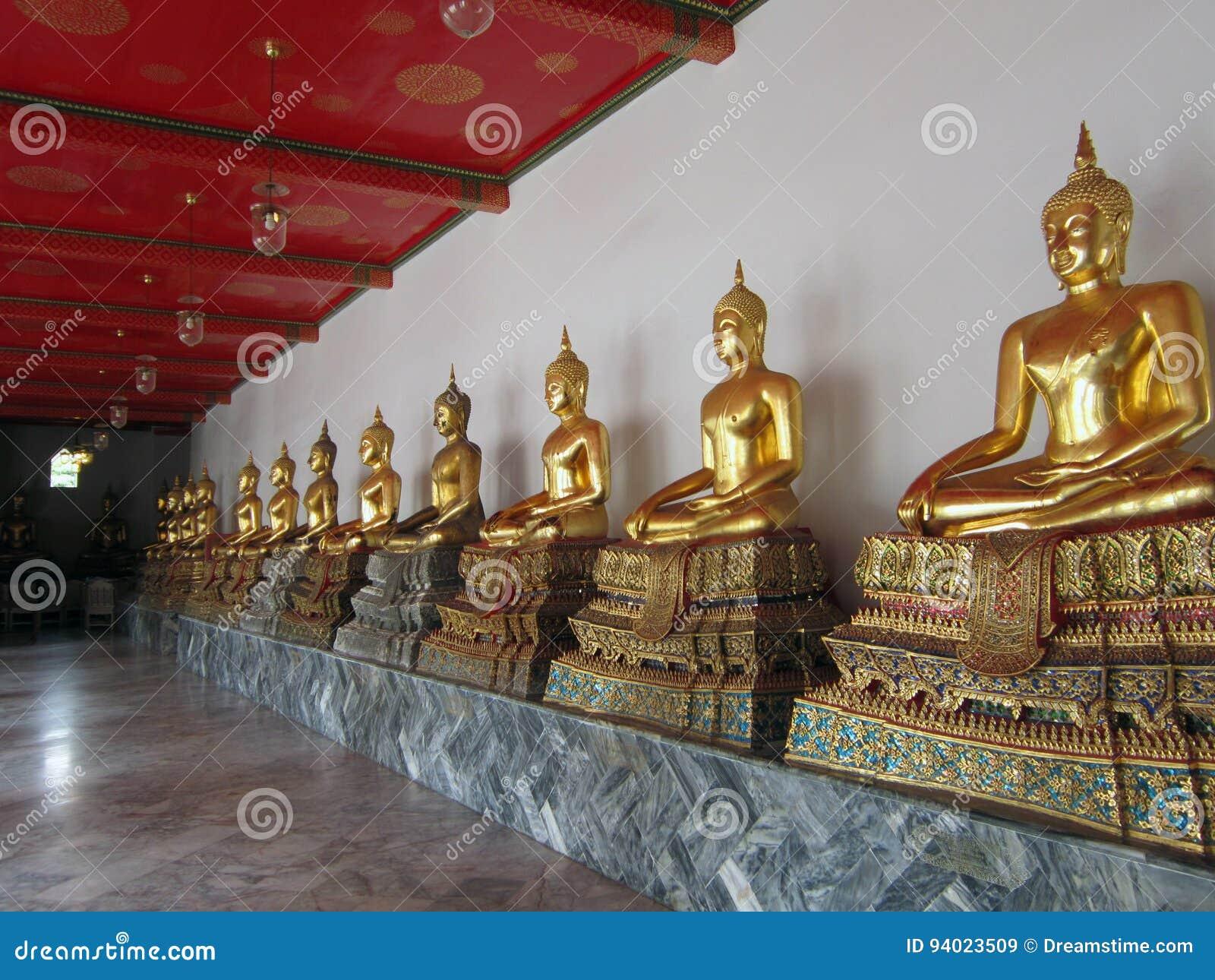 Templo em Banguecoque, Tailândia