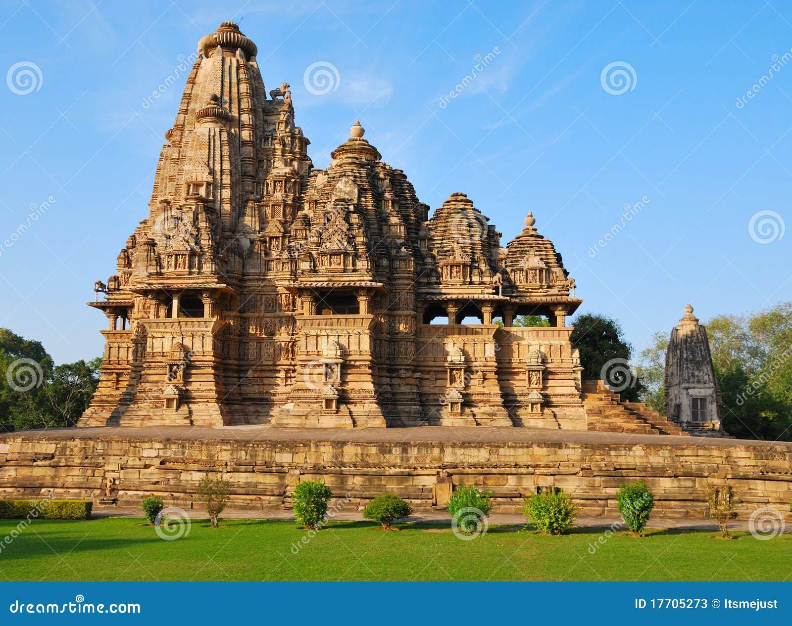 Templo em Khajuraho India