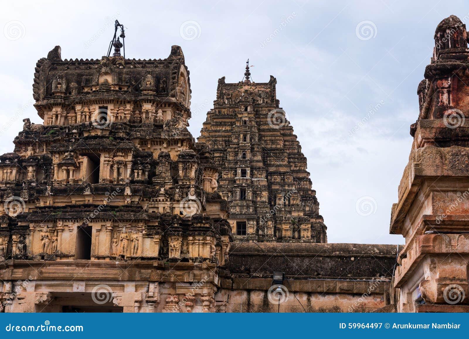 Templo hindú de Hampi