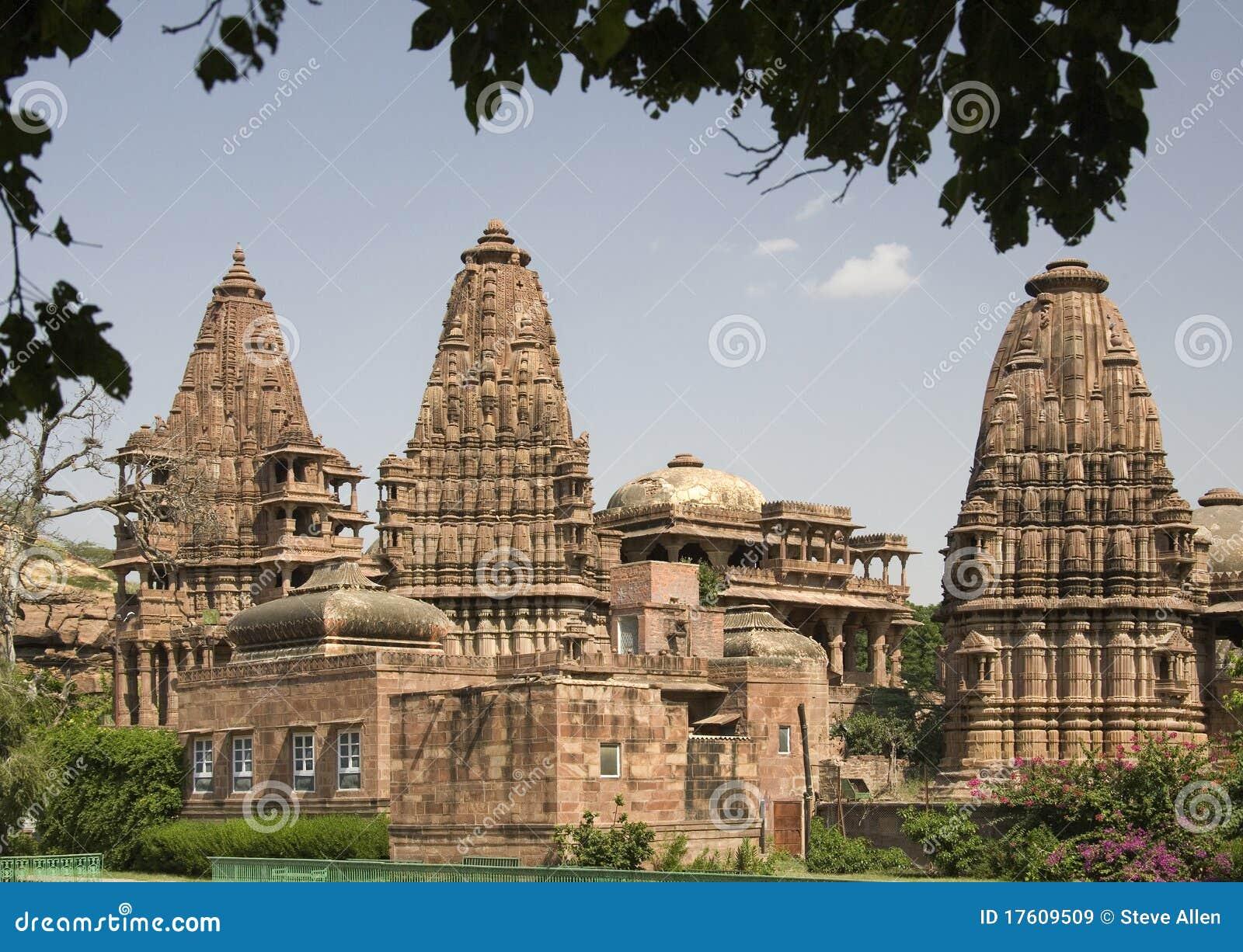 Templo hindú de Mandore - cerca de Jodhpur - la India