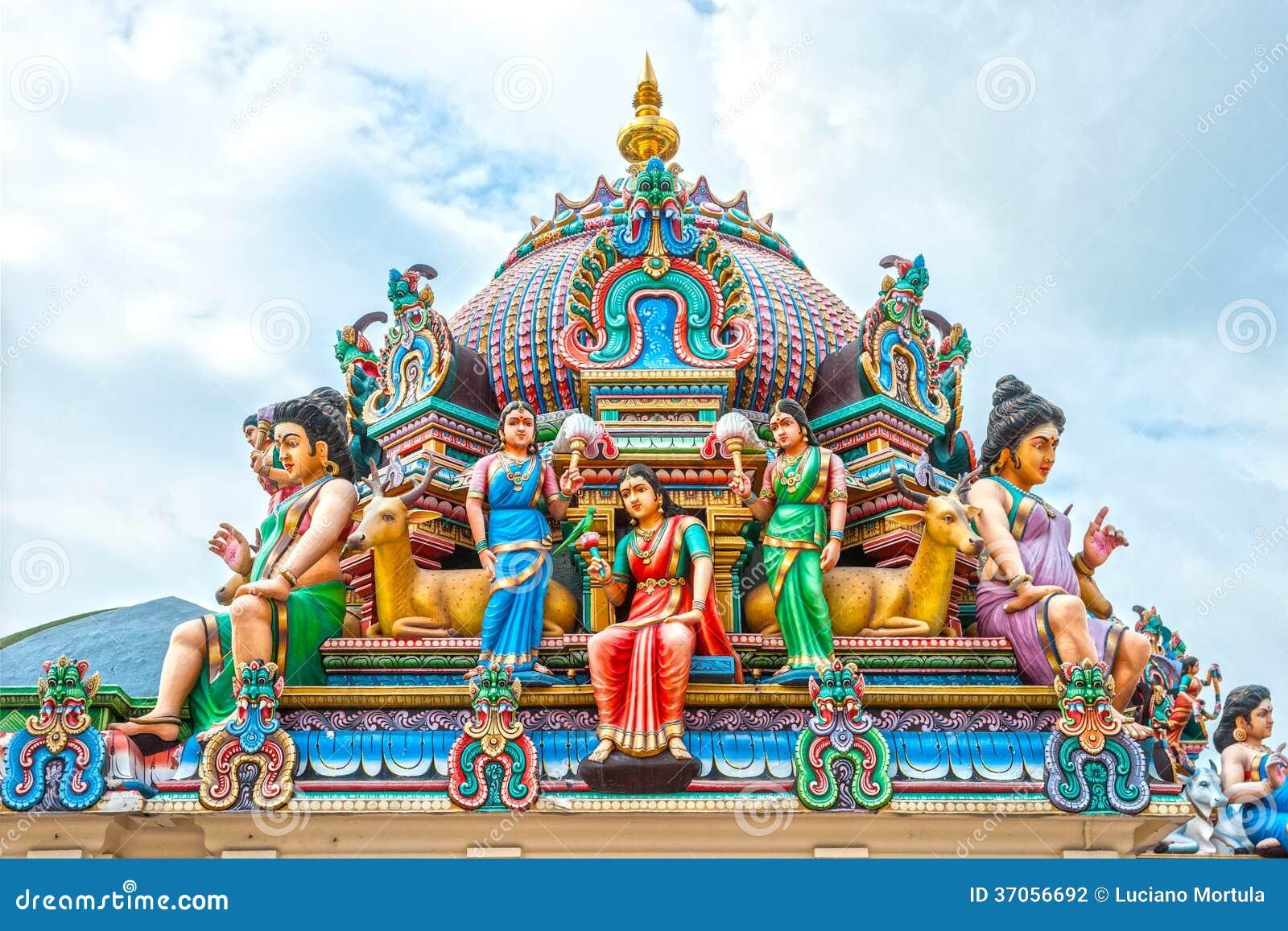 Templo hindú en Singapur