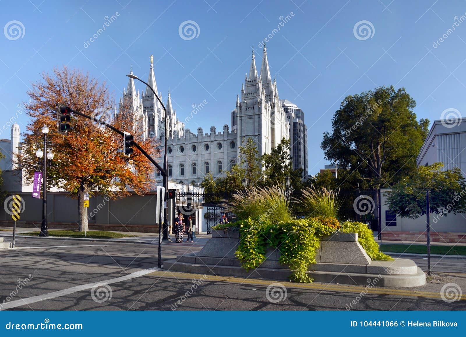 Templo mormón de Salt Lake City, Utah