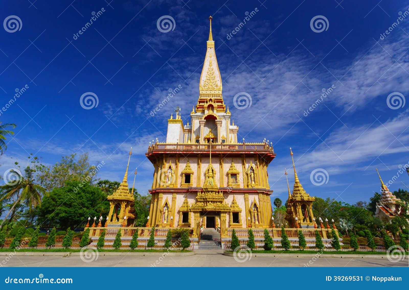 Templo Phuket, Tailandia de Wat Chalong