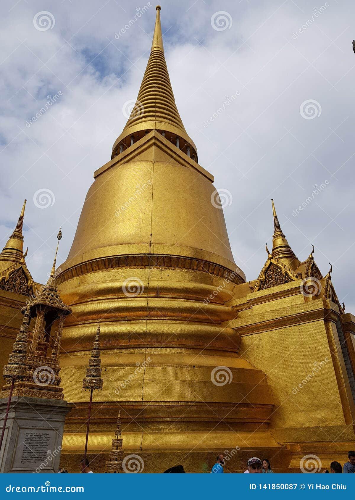 Templo tailandés en Bangkok