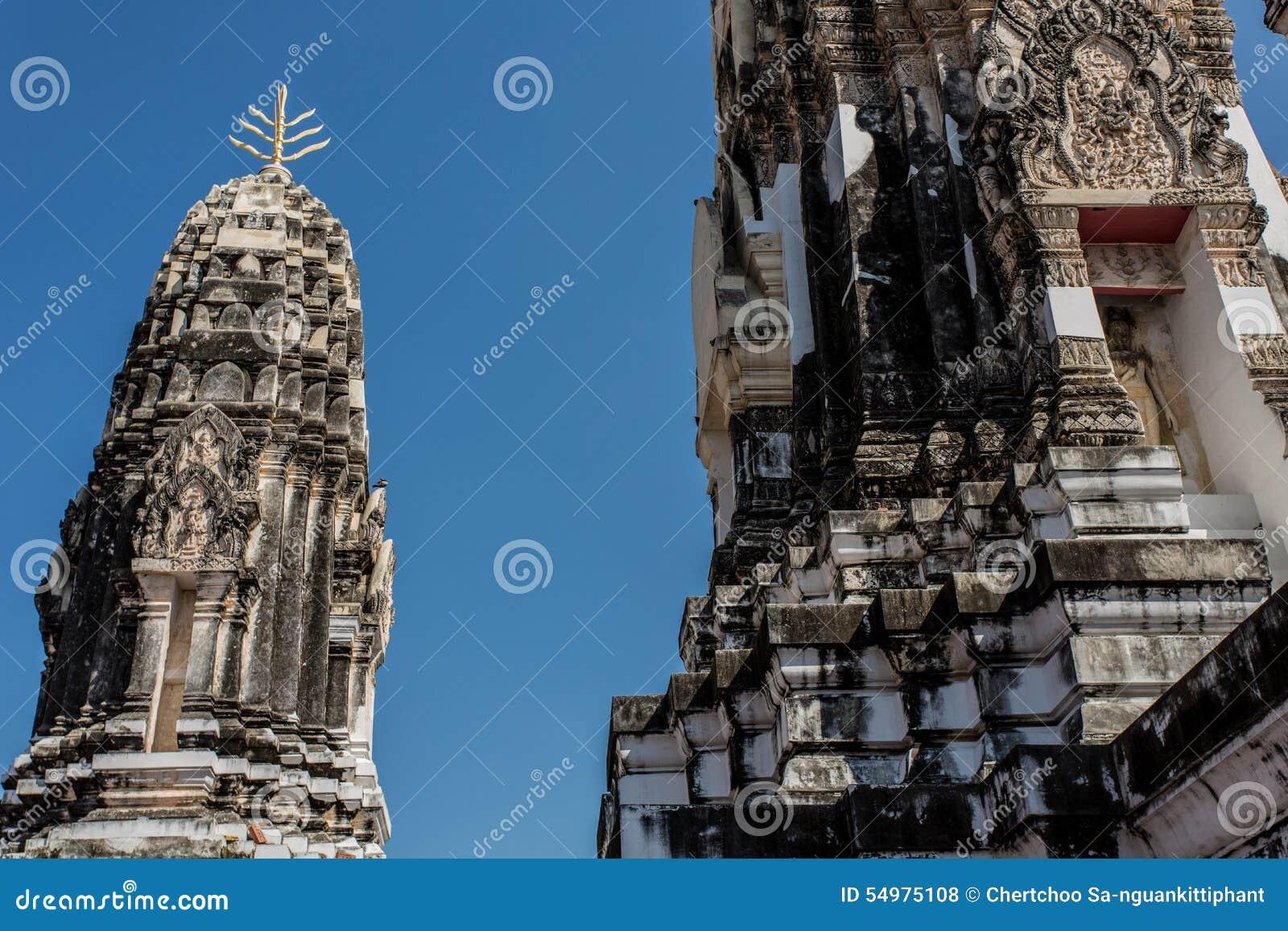 Templo tailandés viejo