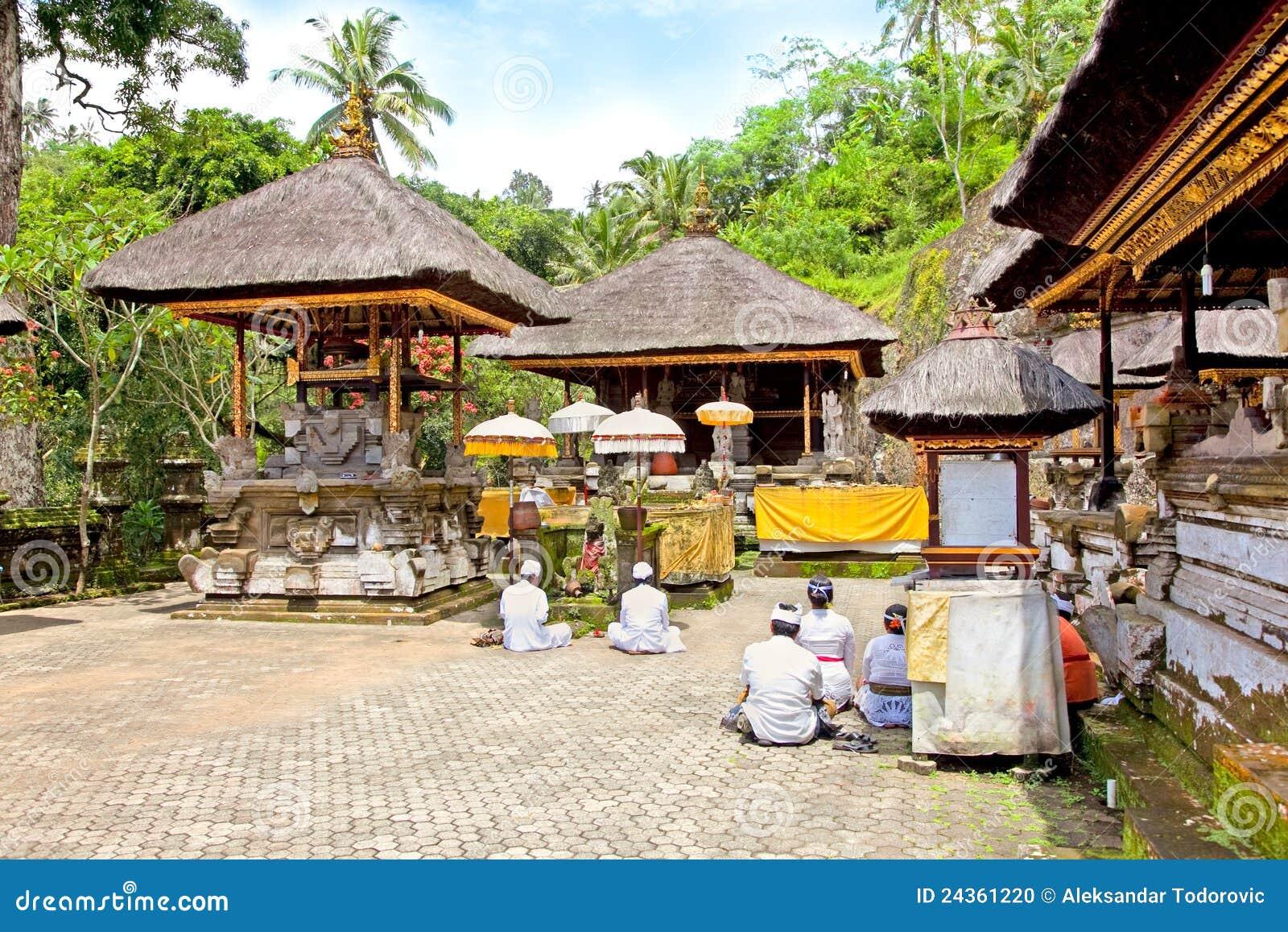 Templo y Candi, Bali, Indonesia de Gunung Kawi
