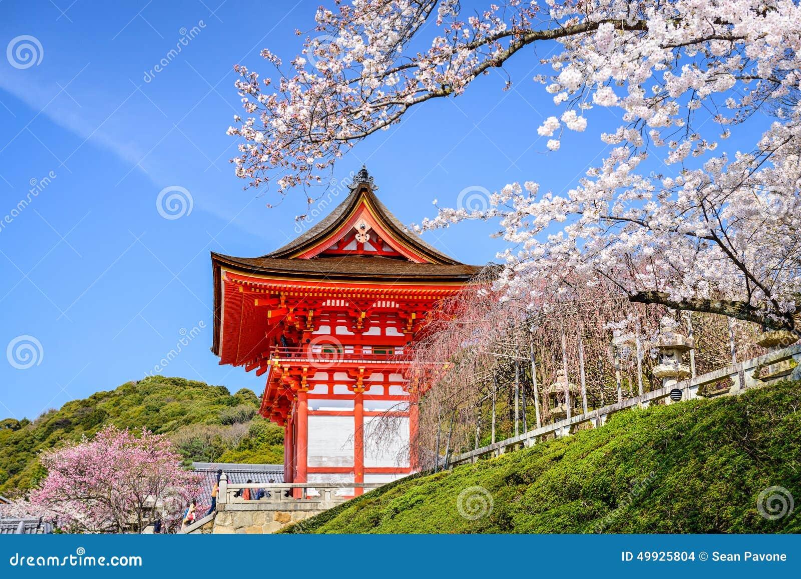 Templos de Kyoto en la primavera